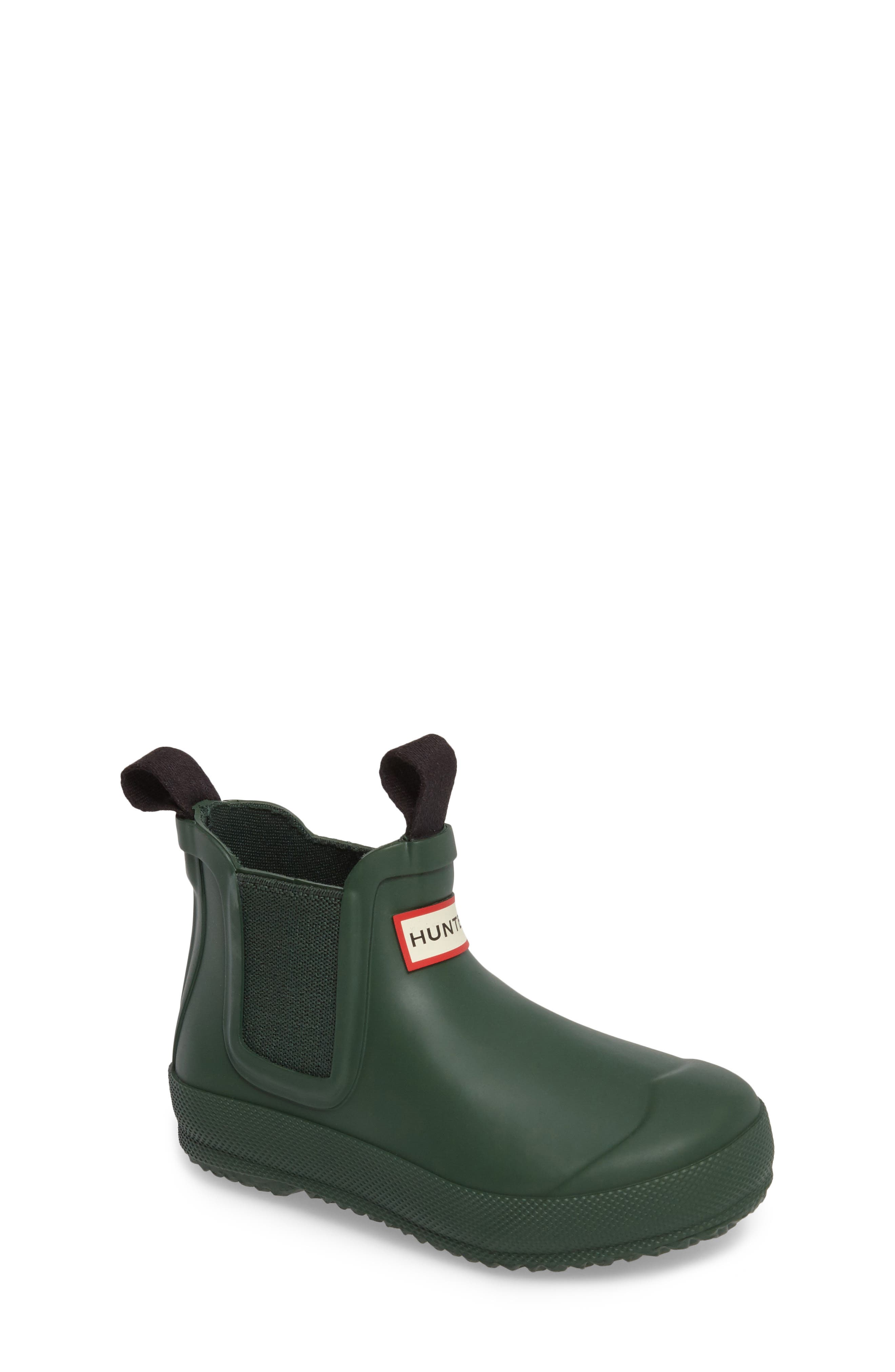 Hunter Original Waterproof Chelsea Boot (Toddler)