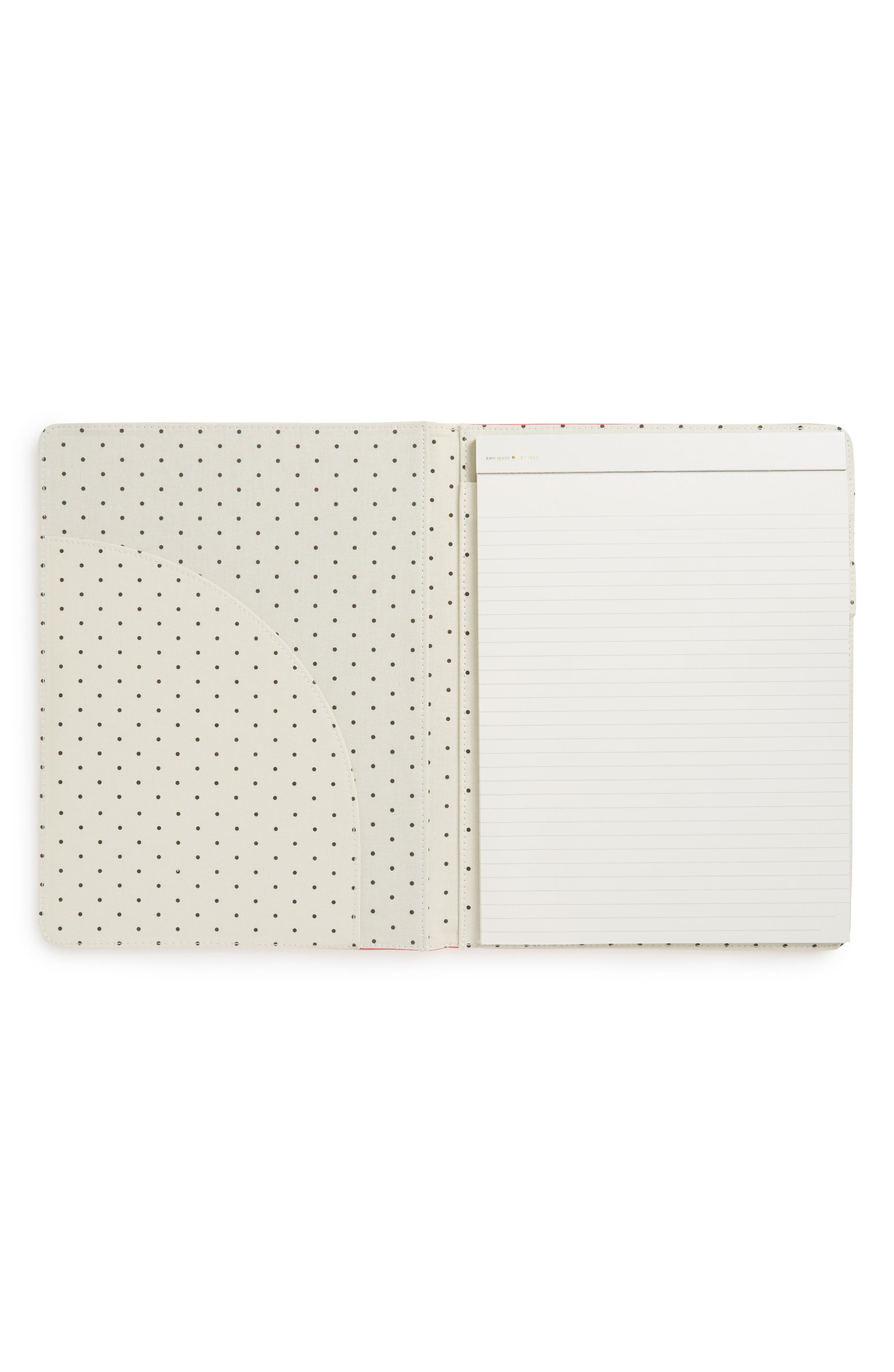 she wrote the book notepad folio,                             Alternate thumbnail 2, color,                             Coral
