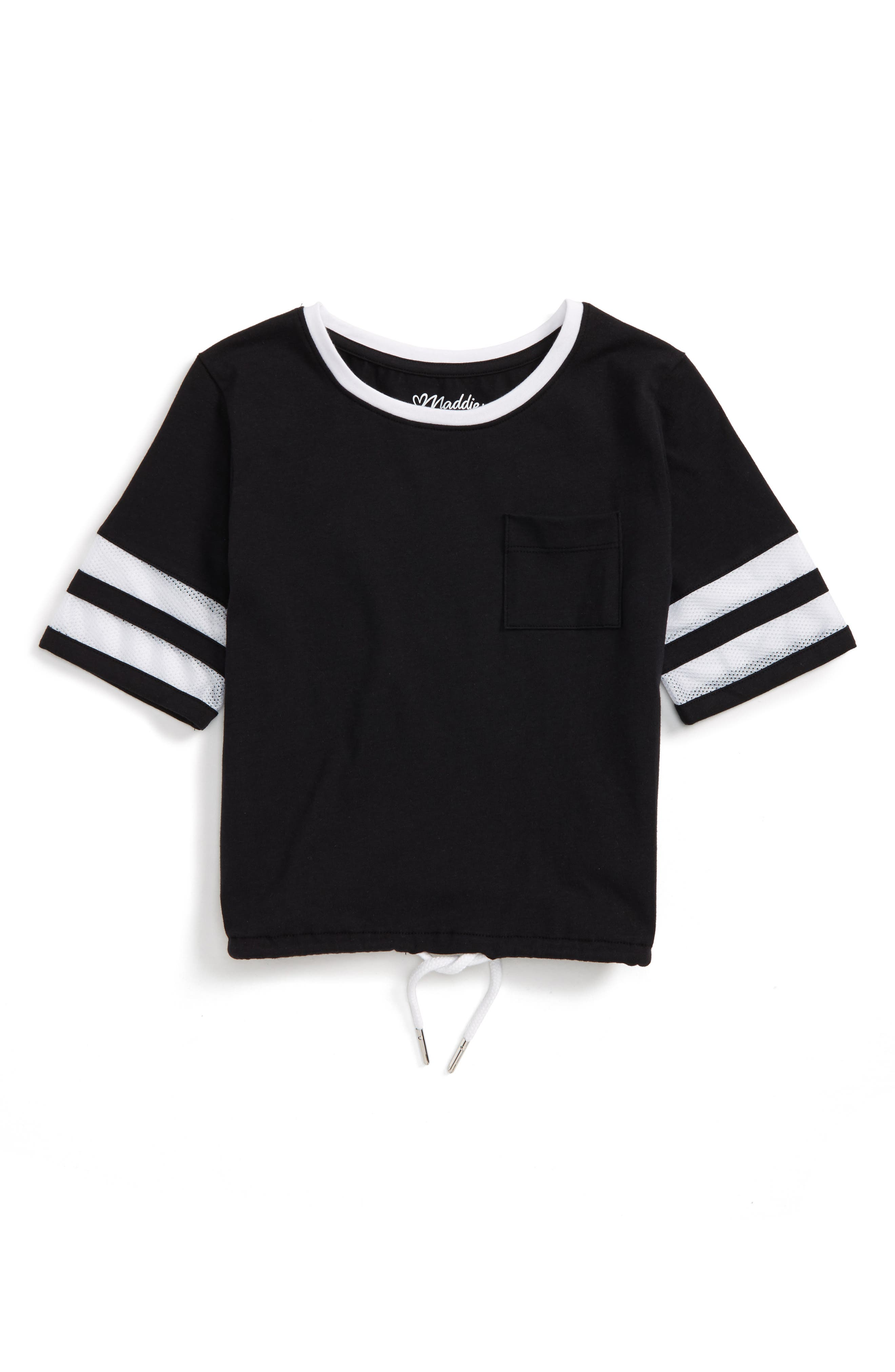 Maddie Drawstring Waist Tee (Big Girls)