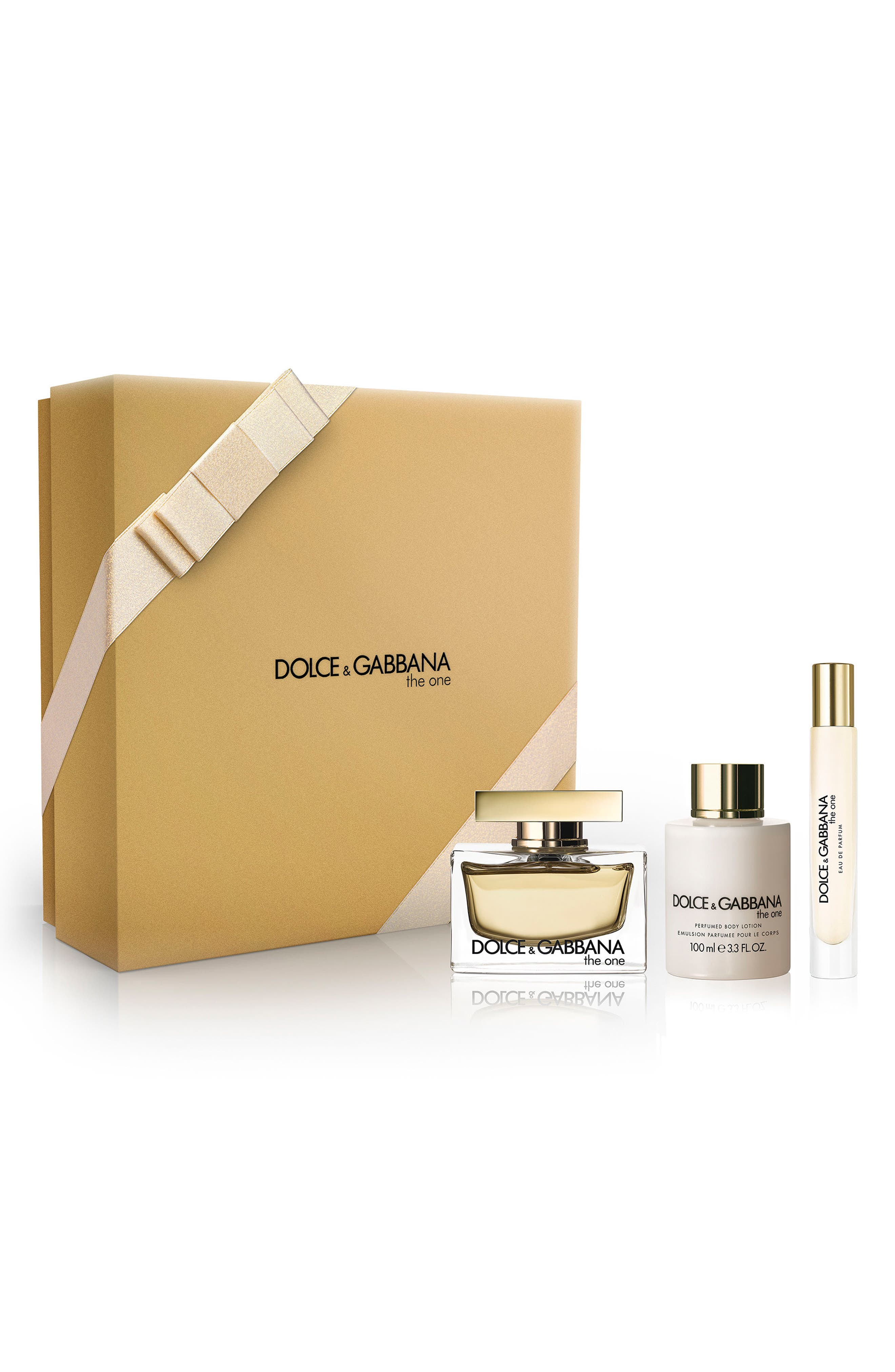 Dolce&Gabbana The One Eau de Parfum Trio ($174 Value)