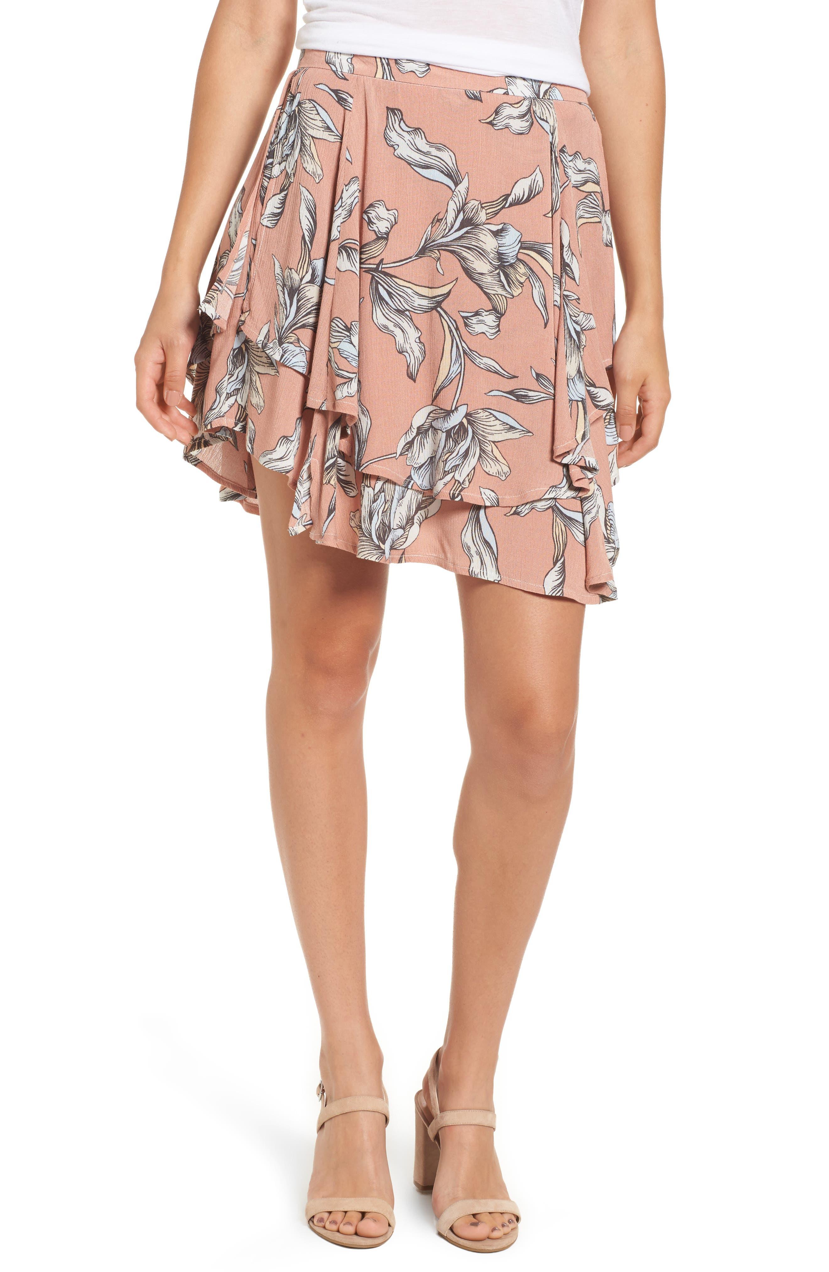 Somedays Lovin Lily Field Tiered Miniskirt