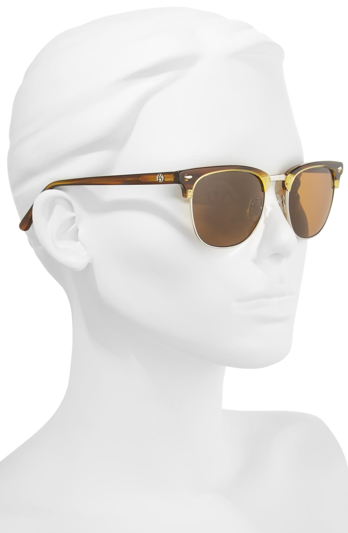 Copeland 51mm Polarized Sunglasses,                             Alternate thumbnail 2, color,                             Amber/ Brown Polar
