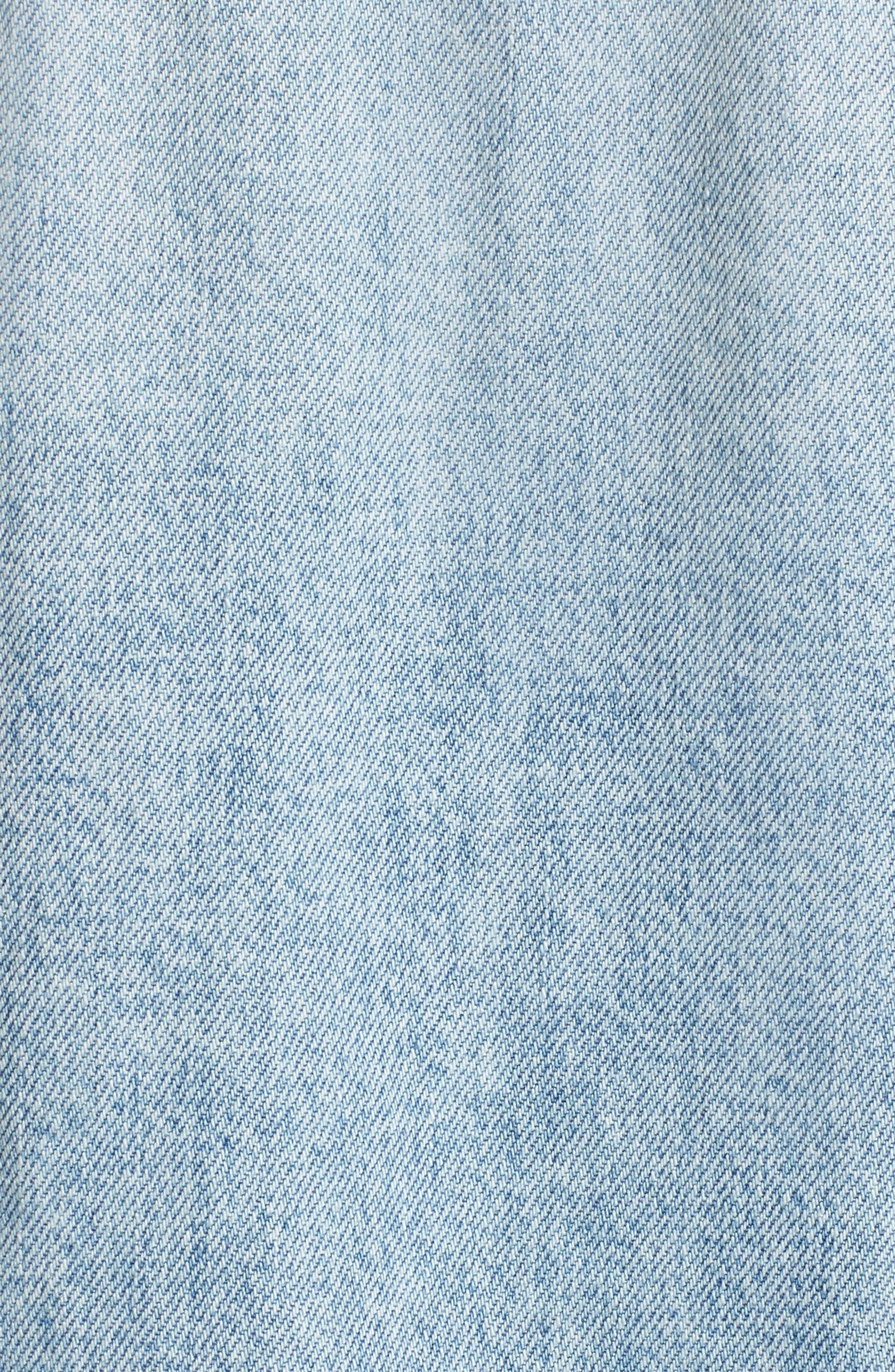 Whiplash Denim Jacket,                             Alternate thumbnail 5, color,                             Whiplash Blue