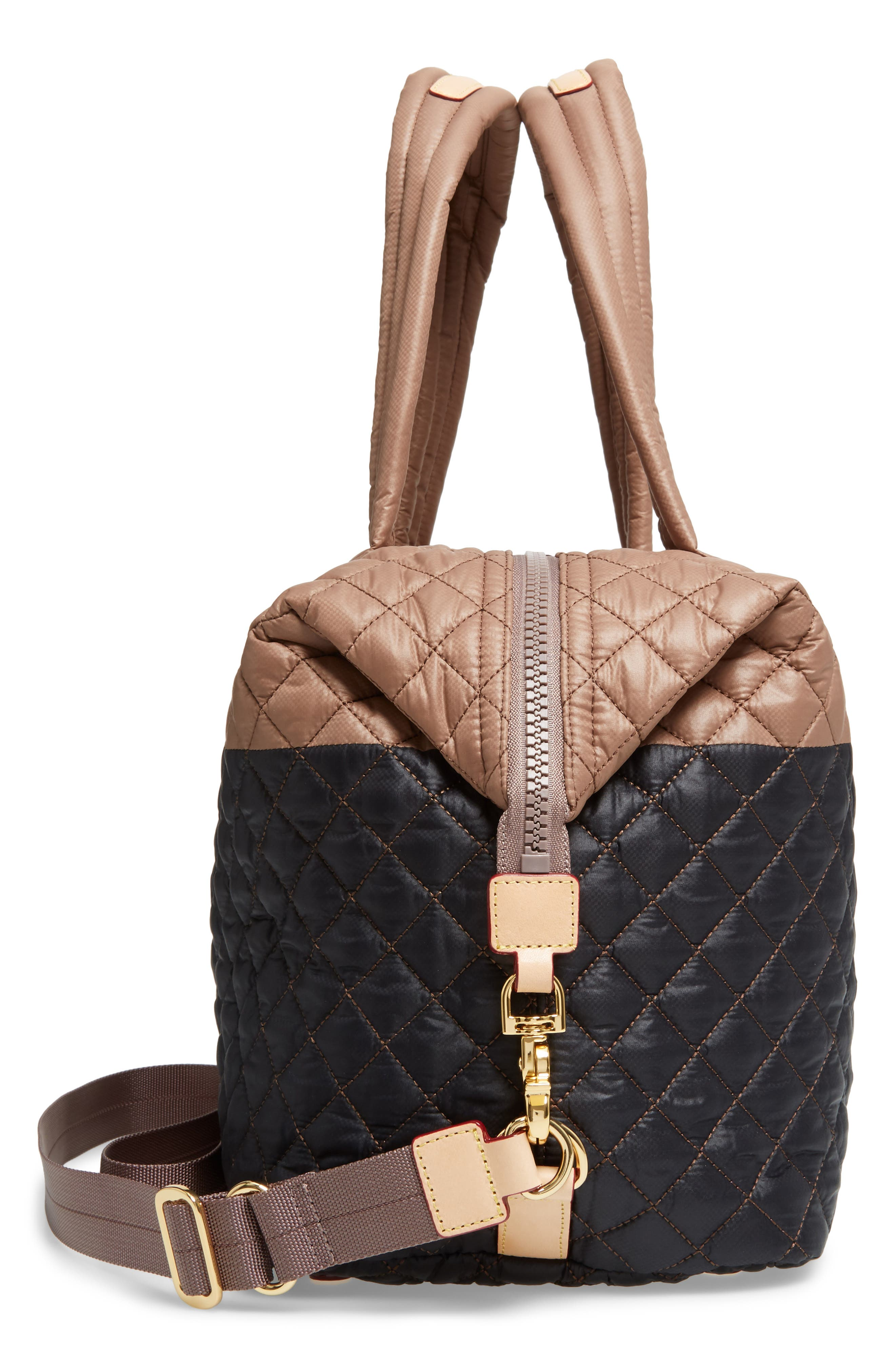 Alternate Image 5  - MZ Wallace 'Large Sutton' Quilted Oxford Nylon Shoulder Tote