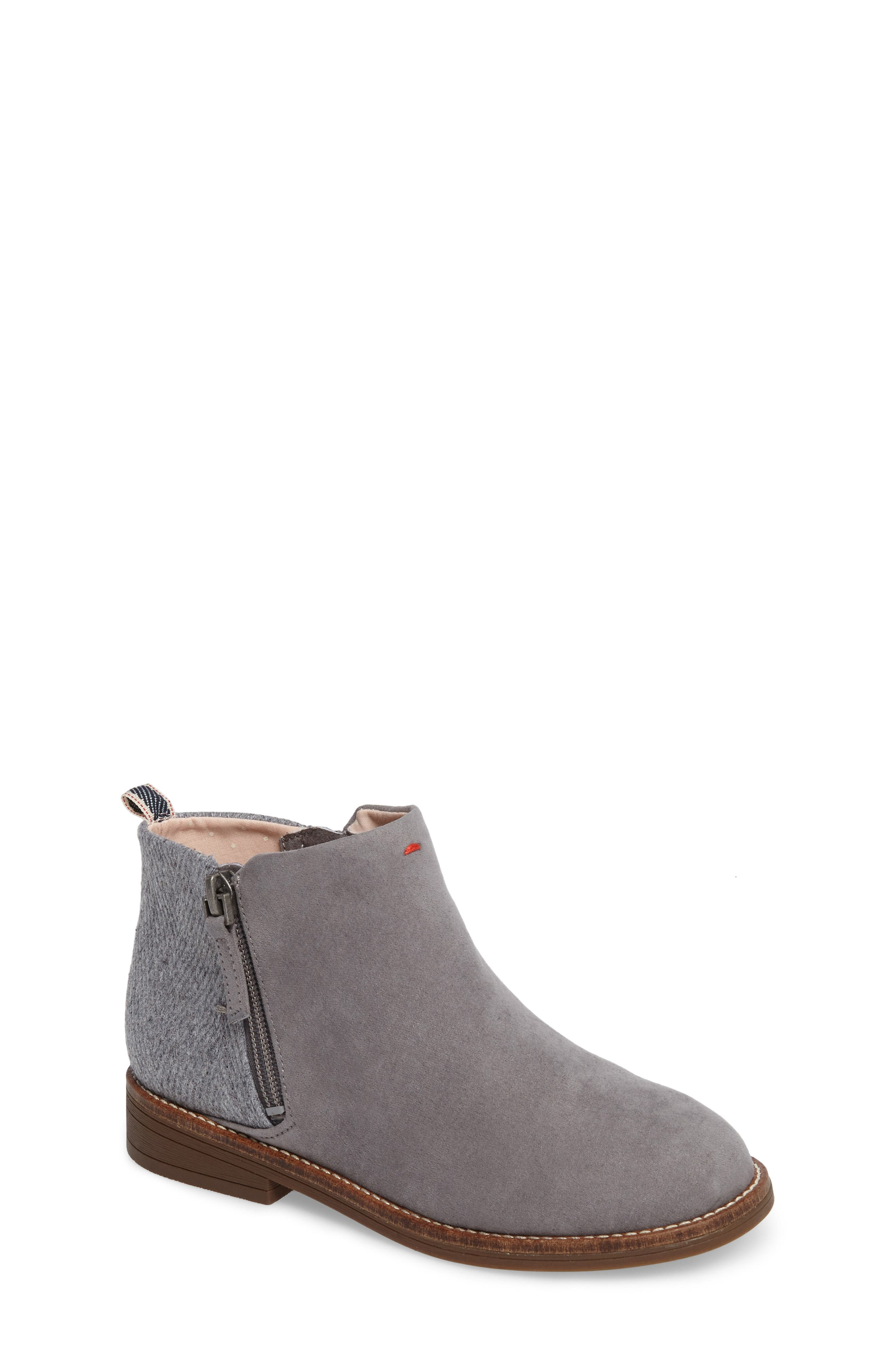 Alternate Image 1 Selected - ED Ellen DeGeneres Glynn Low Zip Bootie (Toddler, Little Kid & Big Kid)