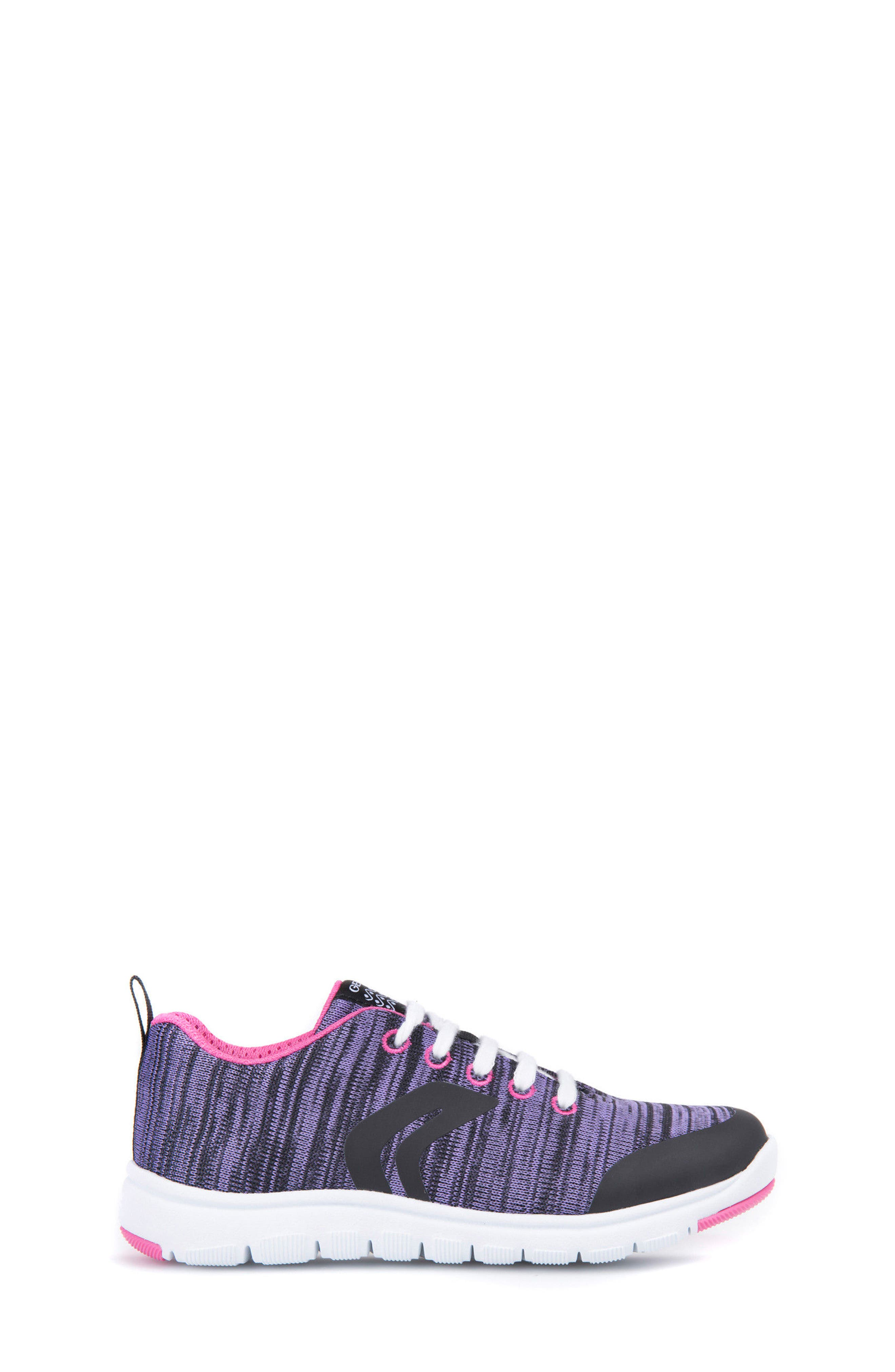 Xunday Performance Knit Low Top Sneaker,                             Alternate thumbnail 3, color,                             Lilac
