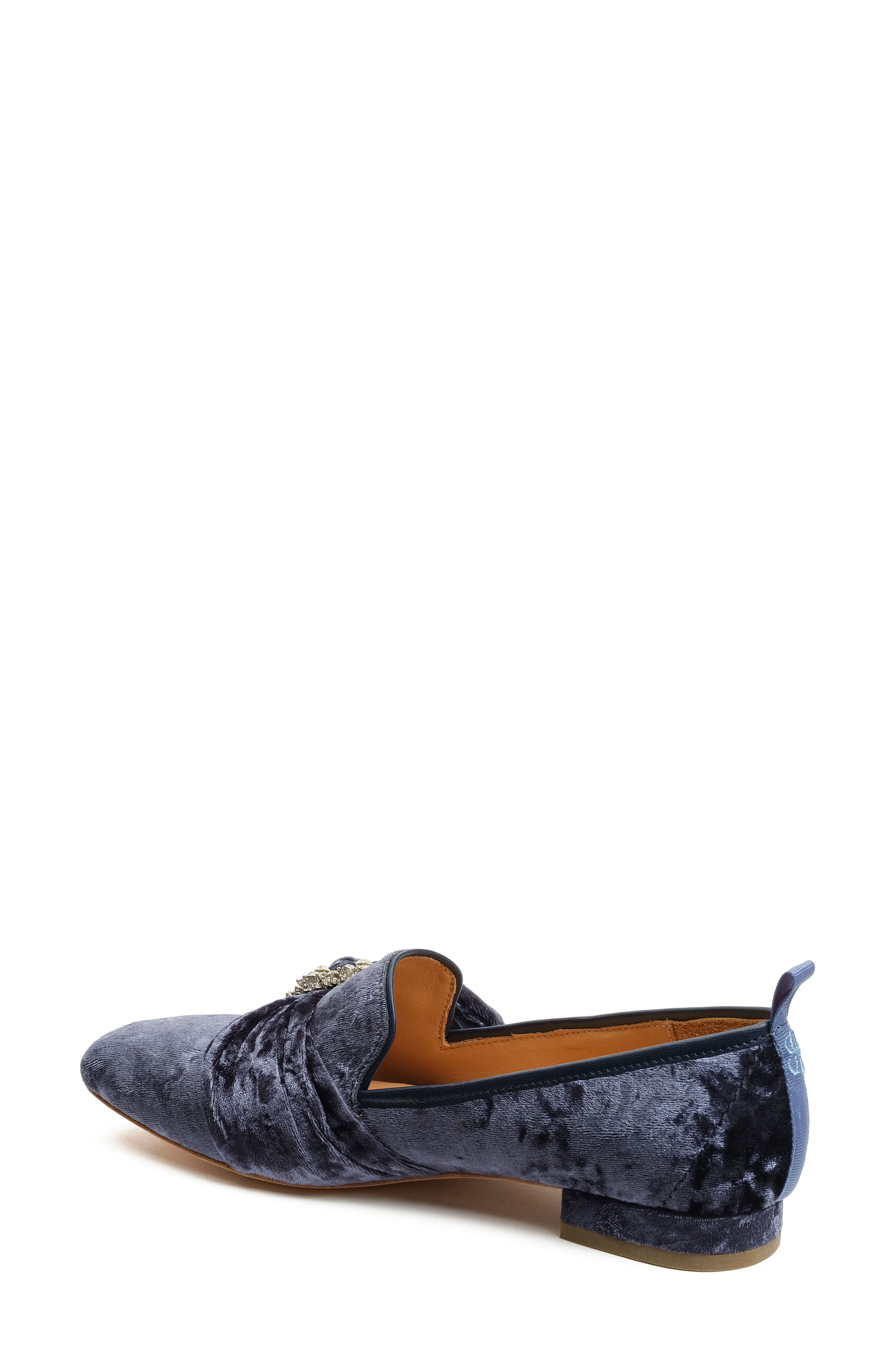Alternate Image 2  - Bill Blass Laverne Embellished Loafer (Women)