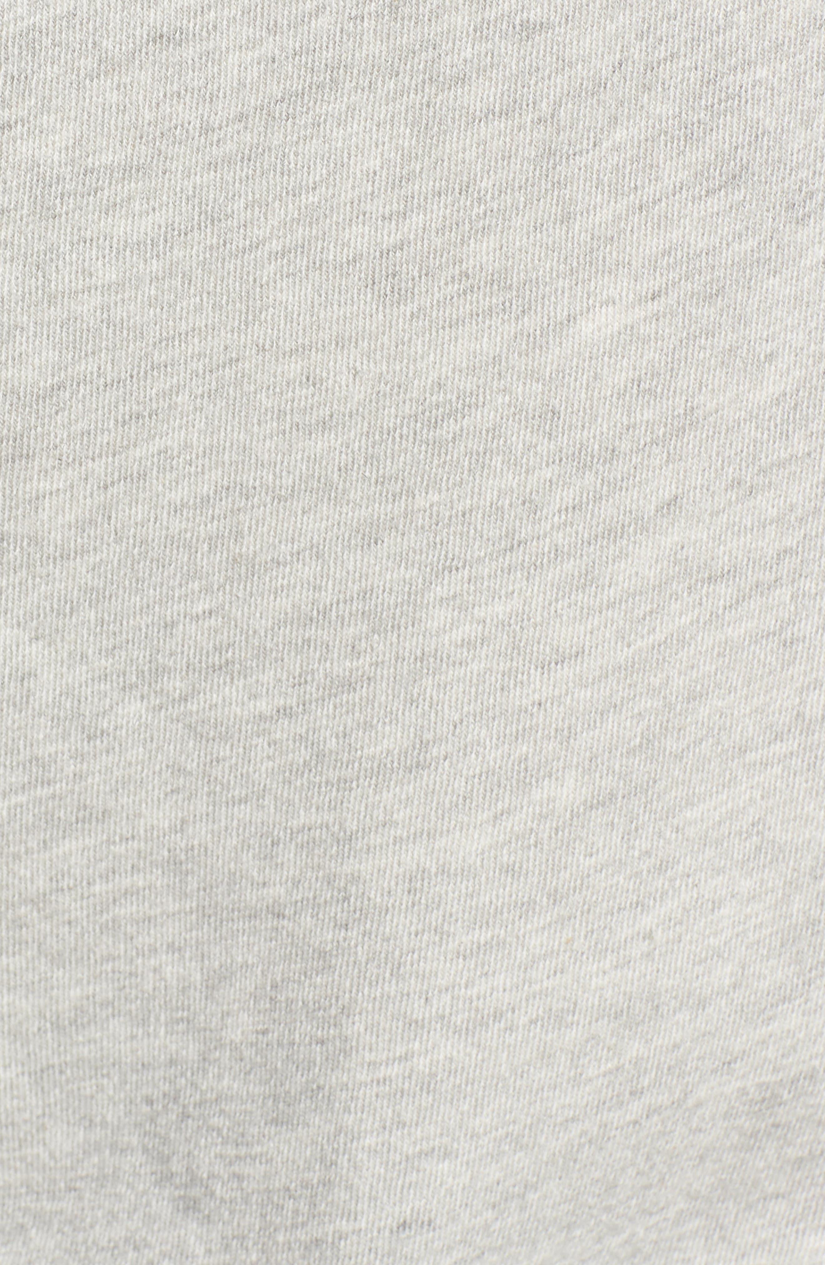 Alternate Image 5  - Pam & Gela One-Shoulder Sweatshirt