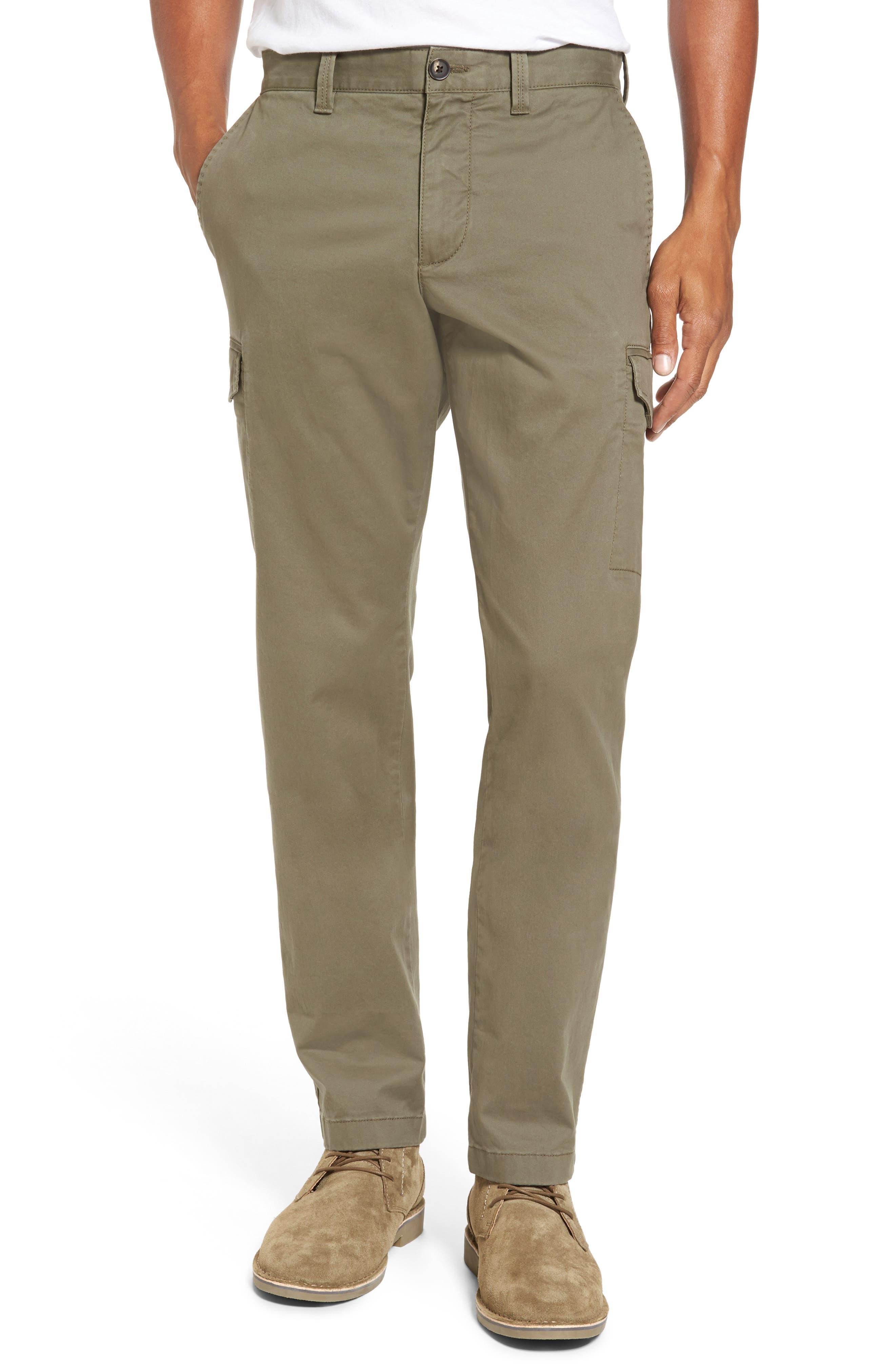 Regular Fit Cargo Pants,                             Main thumbnail 1, color,                             Olive Grove