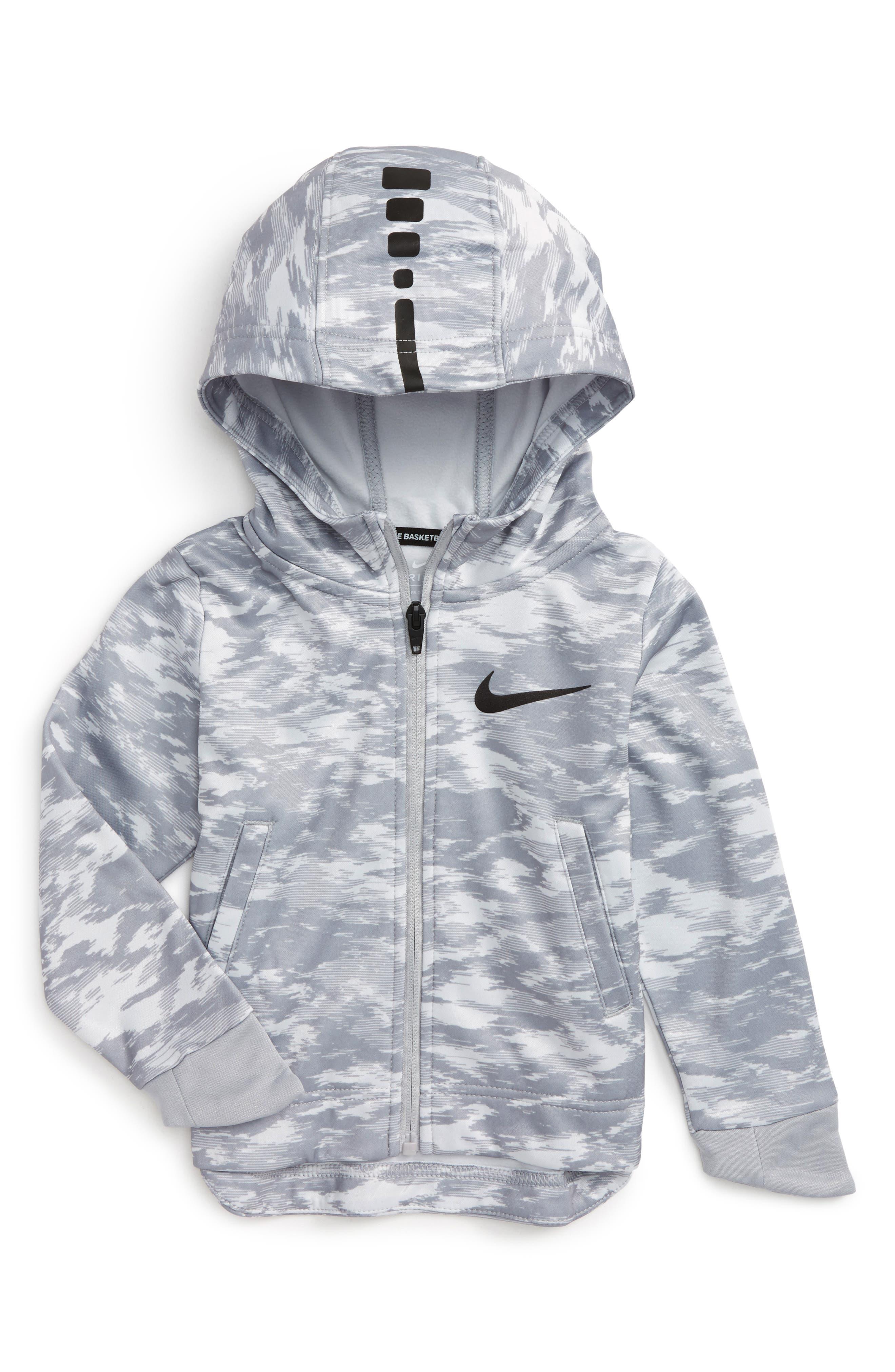 Nike Elite Therma Zip Hoodie (Toddler Boys & Little Boys)