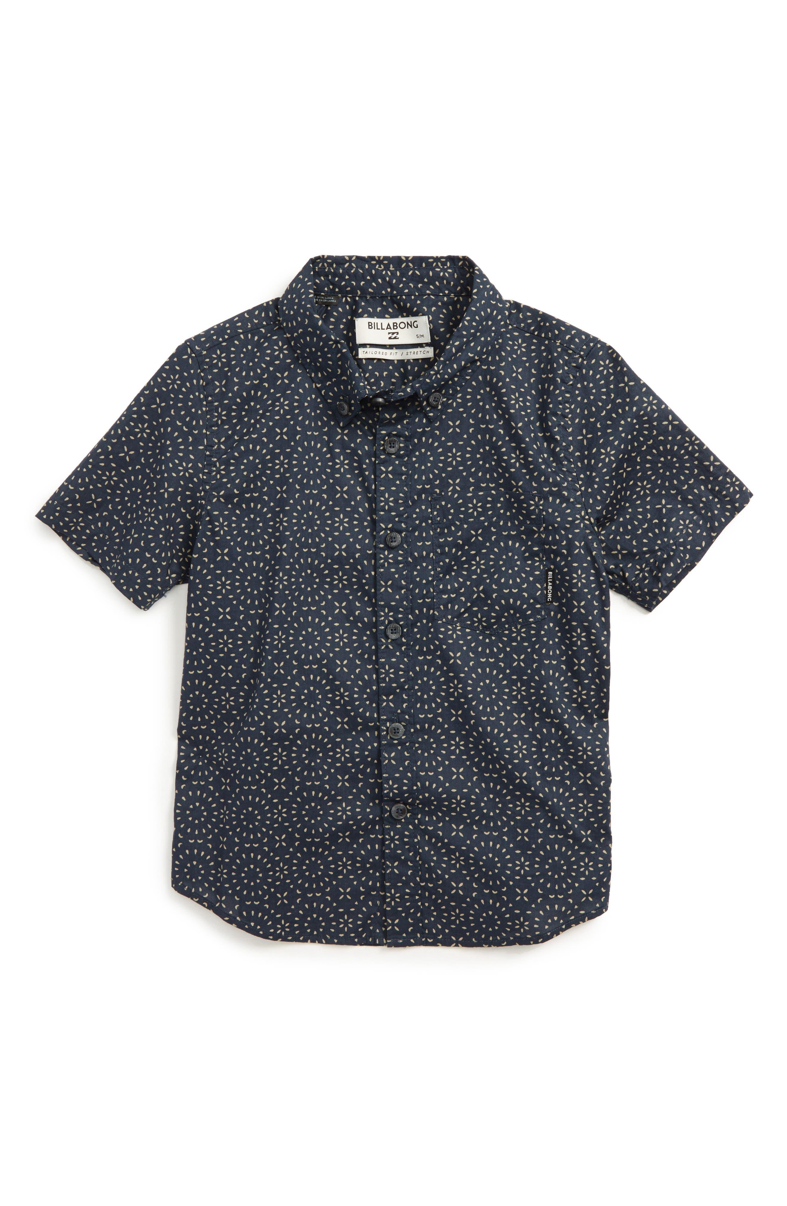 Billabong Sundays Mini Woven Shirt (Little Boys)