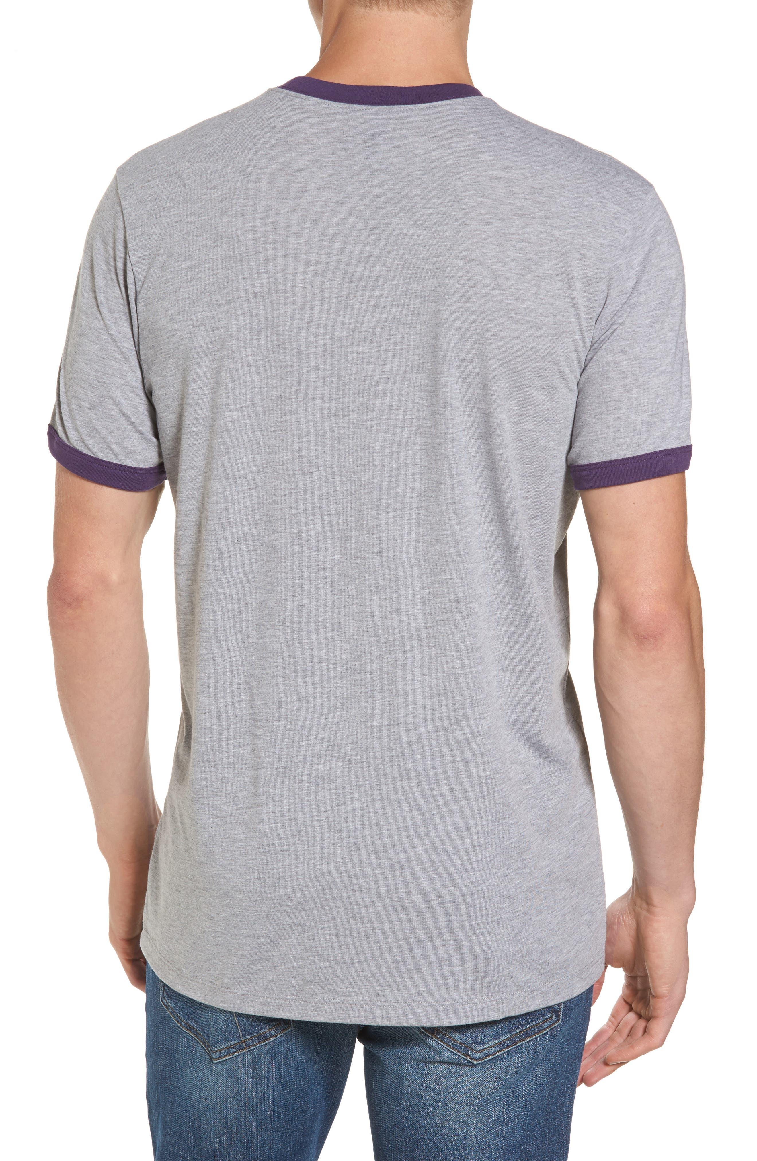 Alternate Image 2  - '47 University of Washington Huskies Ringer T-Shirt