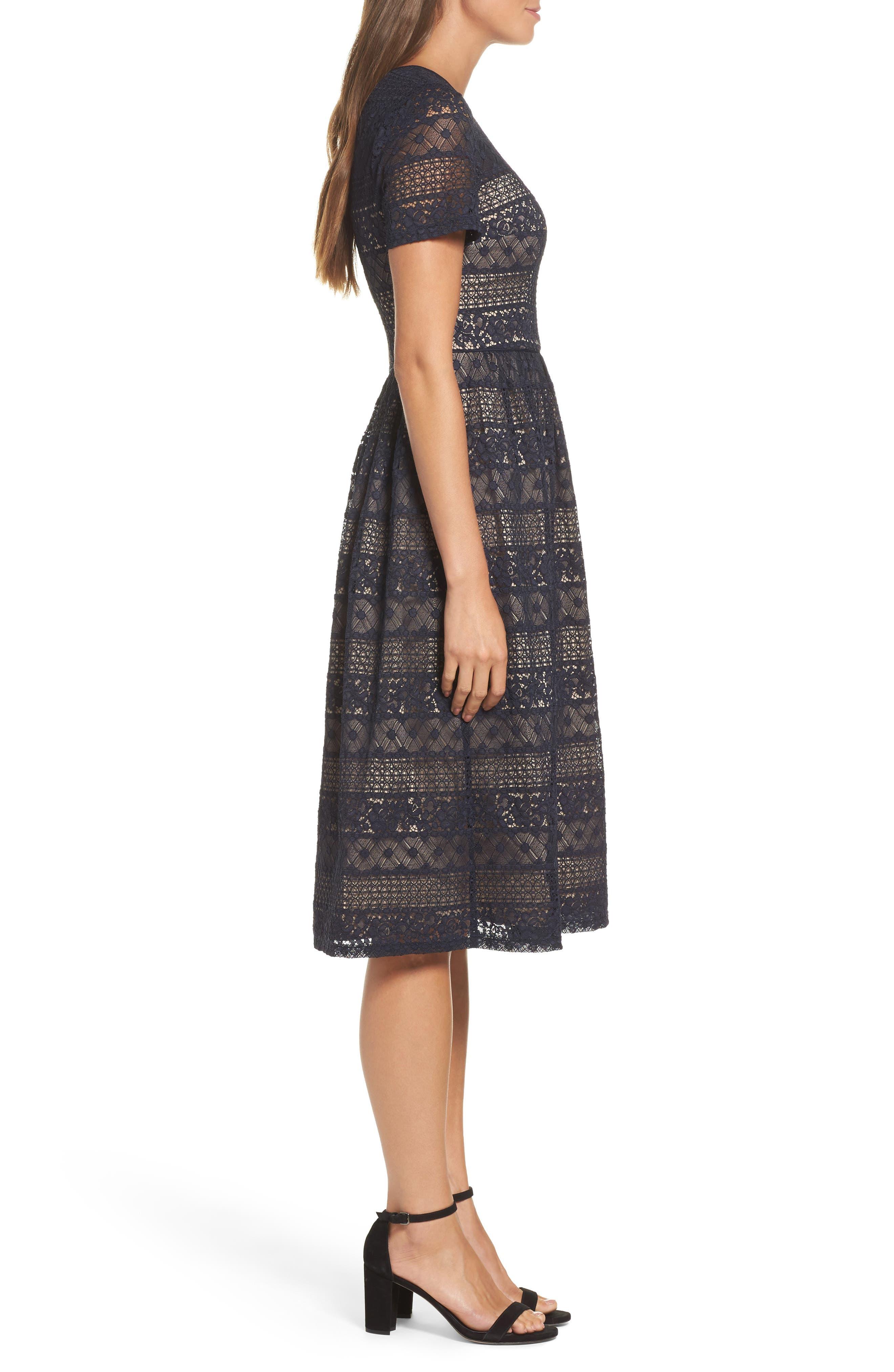 Alternate Image 3  - Maggy London Lace Midi Dress (Regular & Petite)