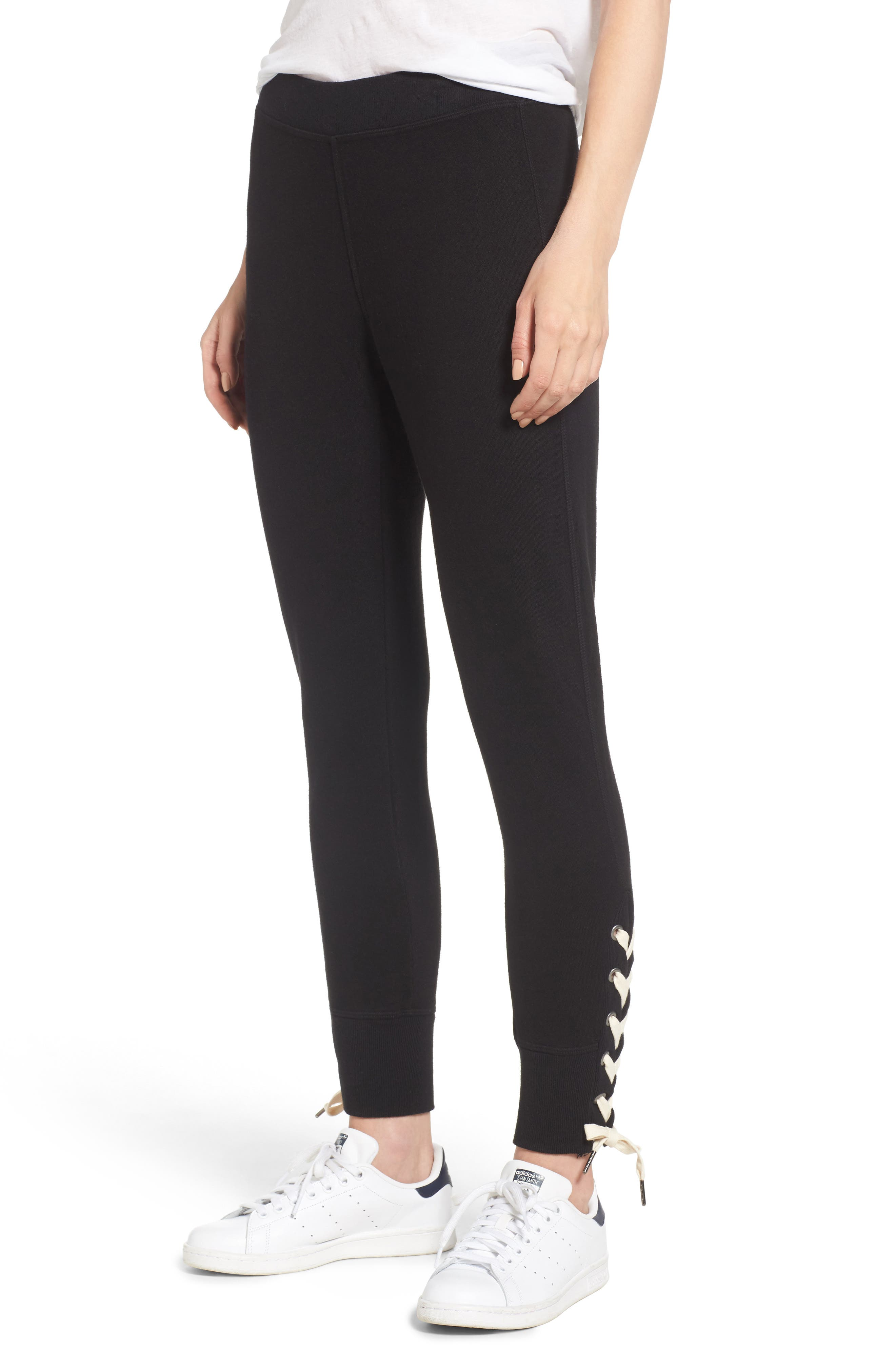 Alternate Image 1 Selected - n:PHILANTHROPY Marta Lace-Up Jogger Pants