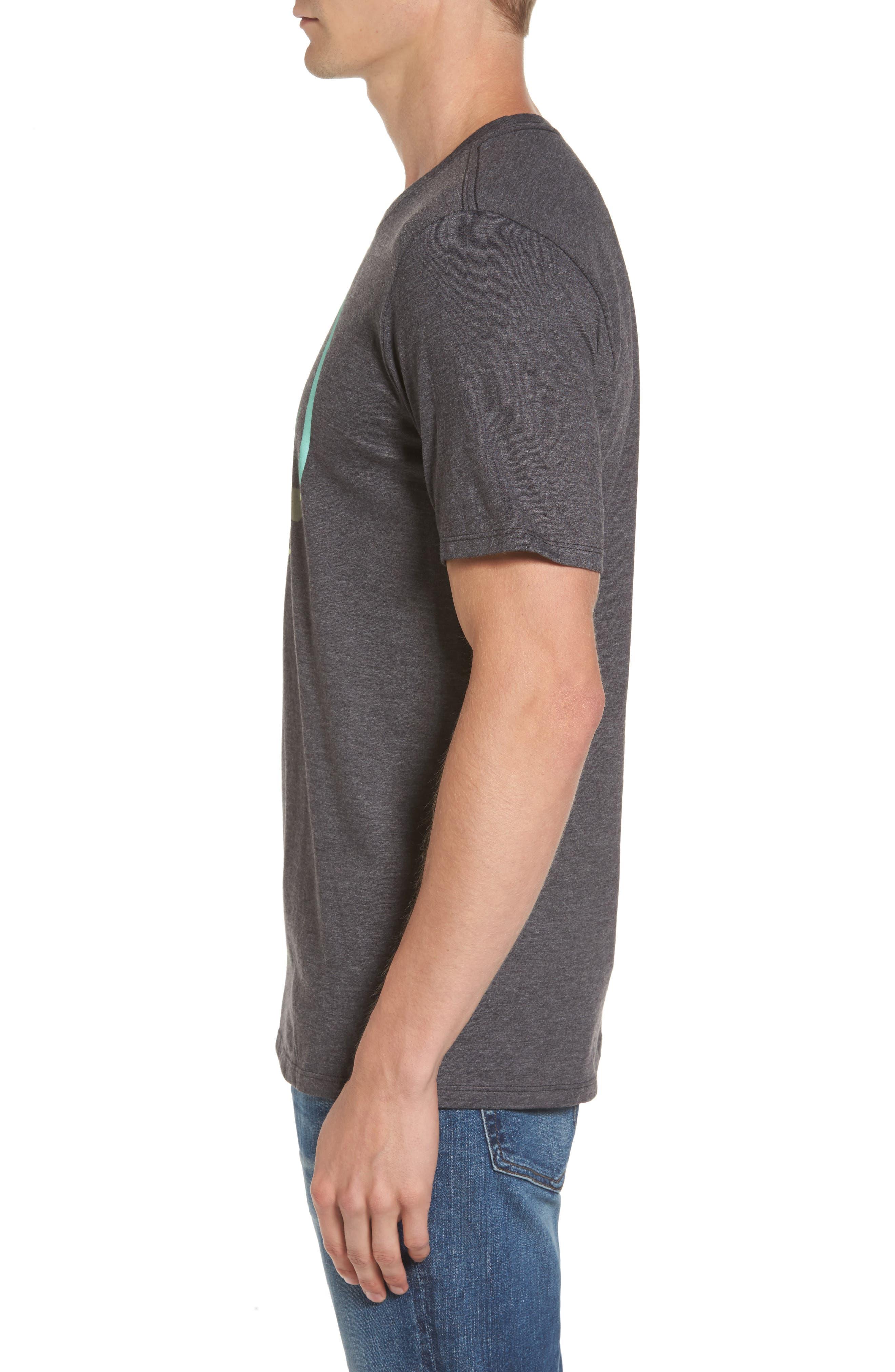 Las Olas T-Shirt,                             Alternate thumbnail 3, color,                             Black