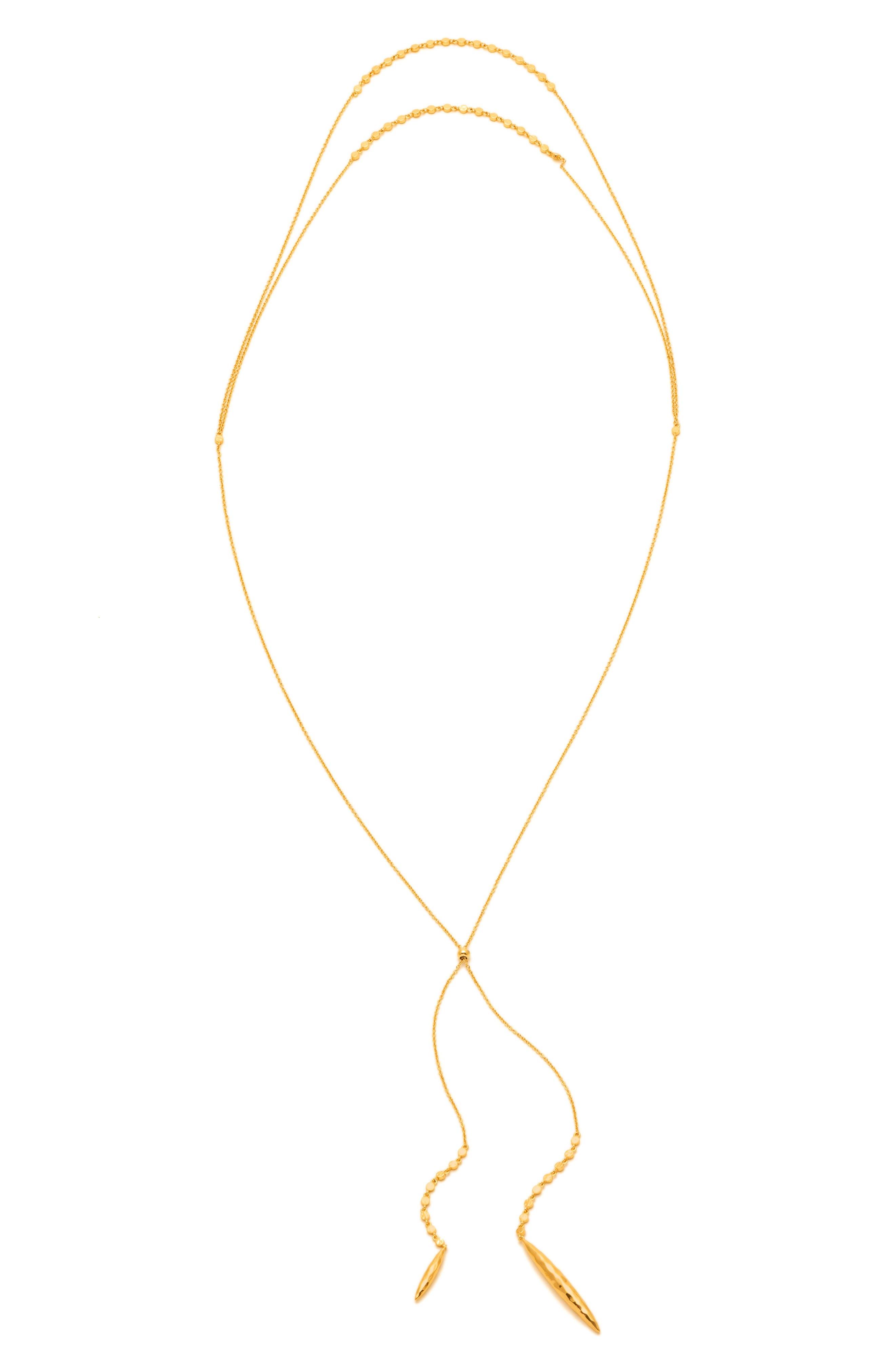 Chloe Multistrand Necklace,                             Alternate thumbnail 2, color,                             Gold