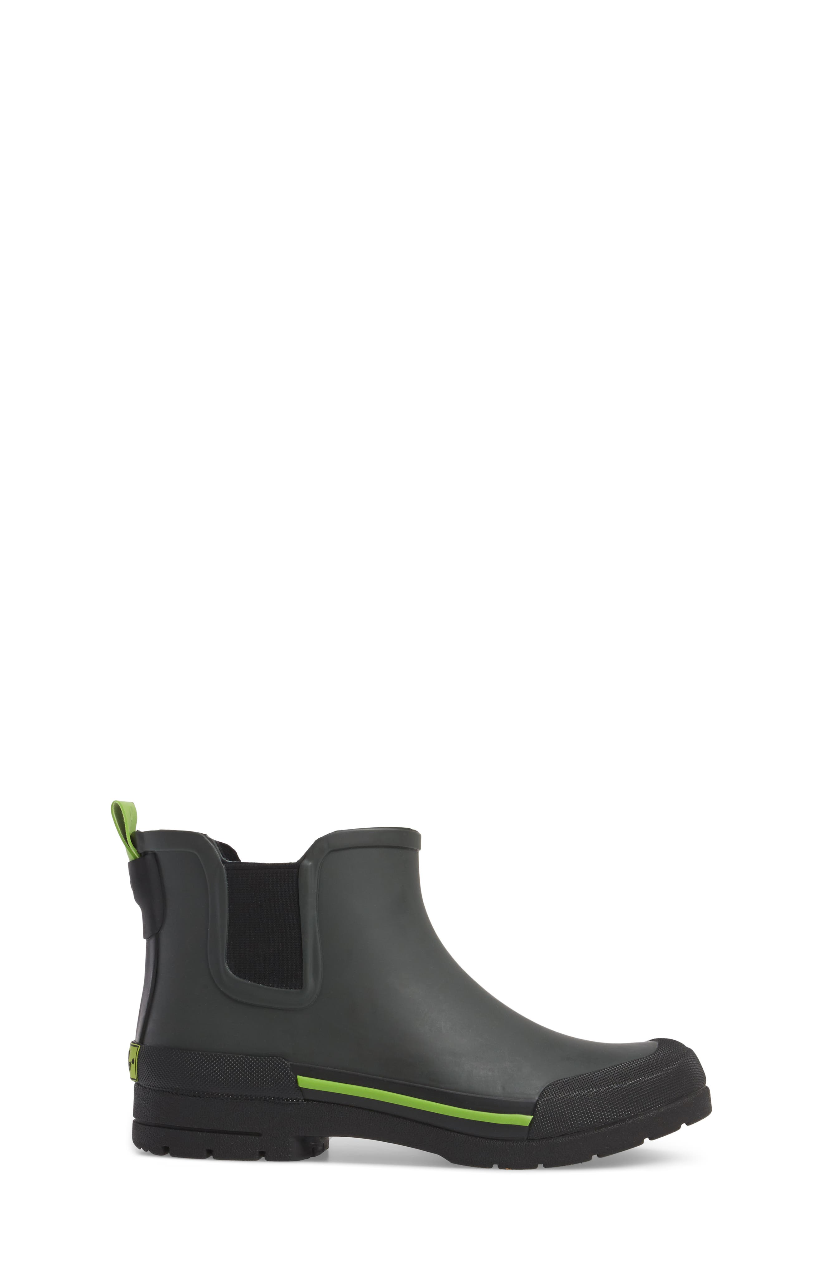 Classic Twin Gore Rain Boot,                             Alternate thumbnail 3, color,                             Charcoal