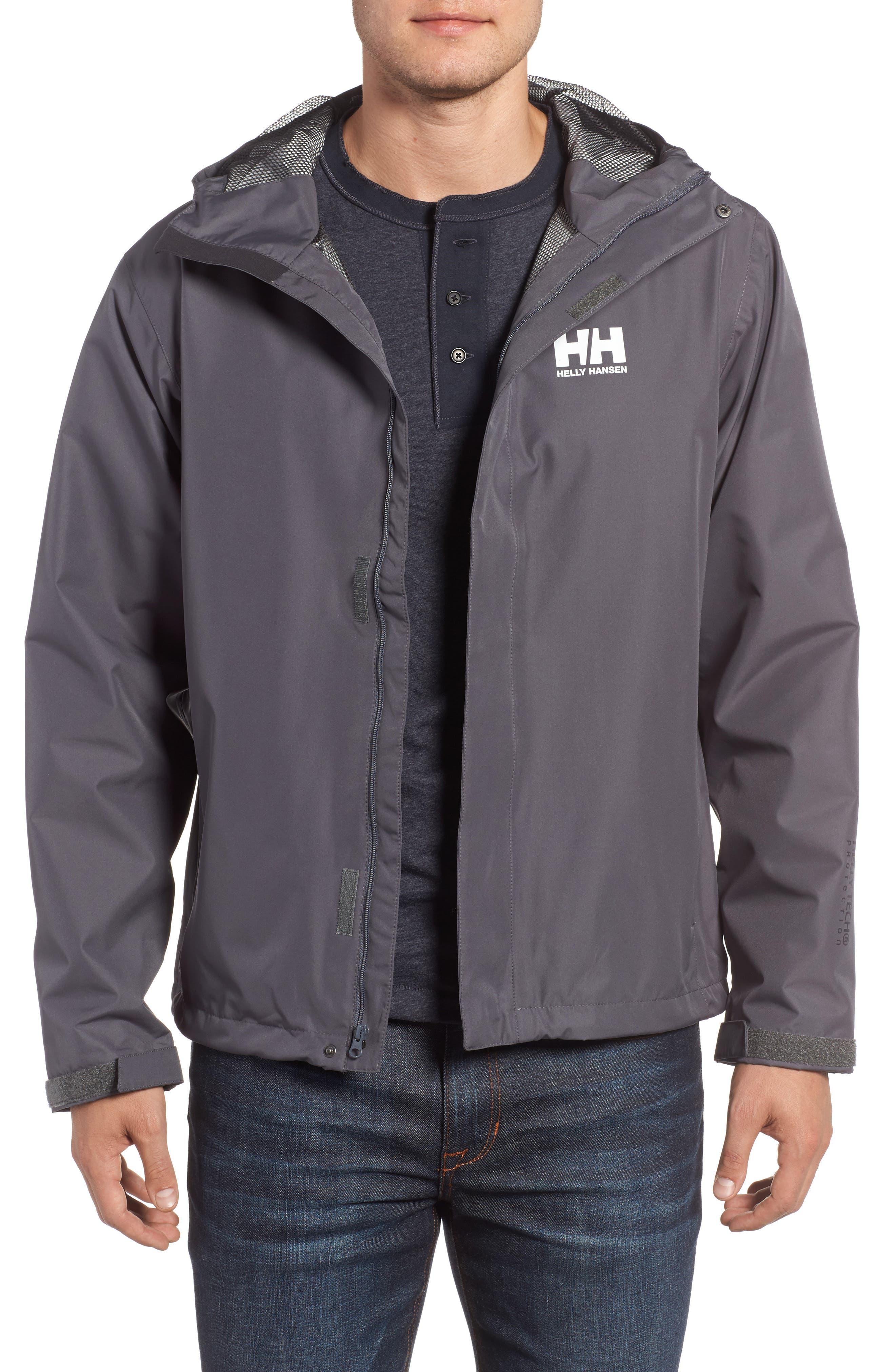Helly Hansen 'Seven J' Waterproof & Windproof Jacket
