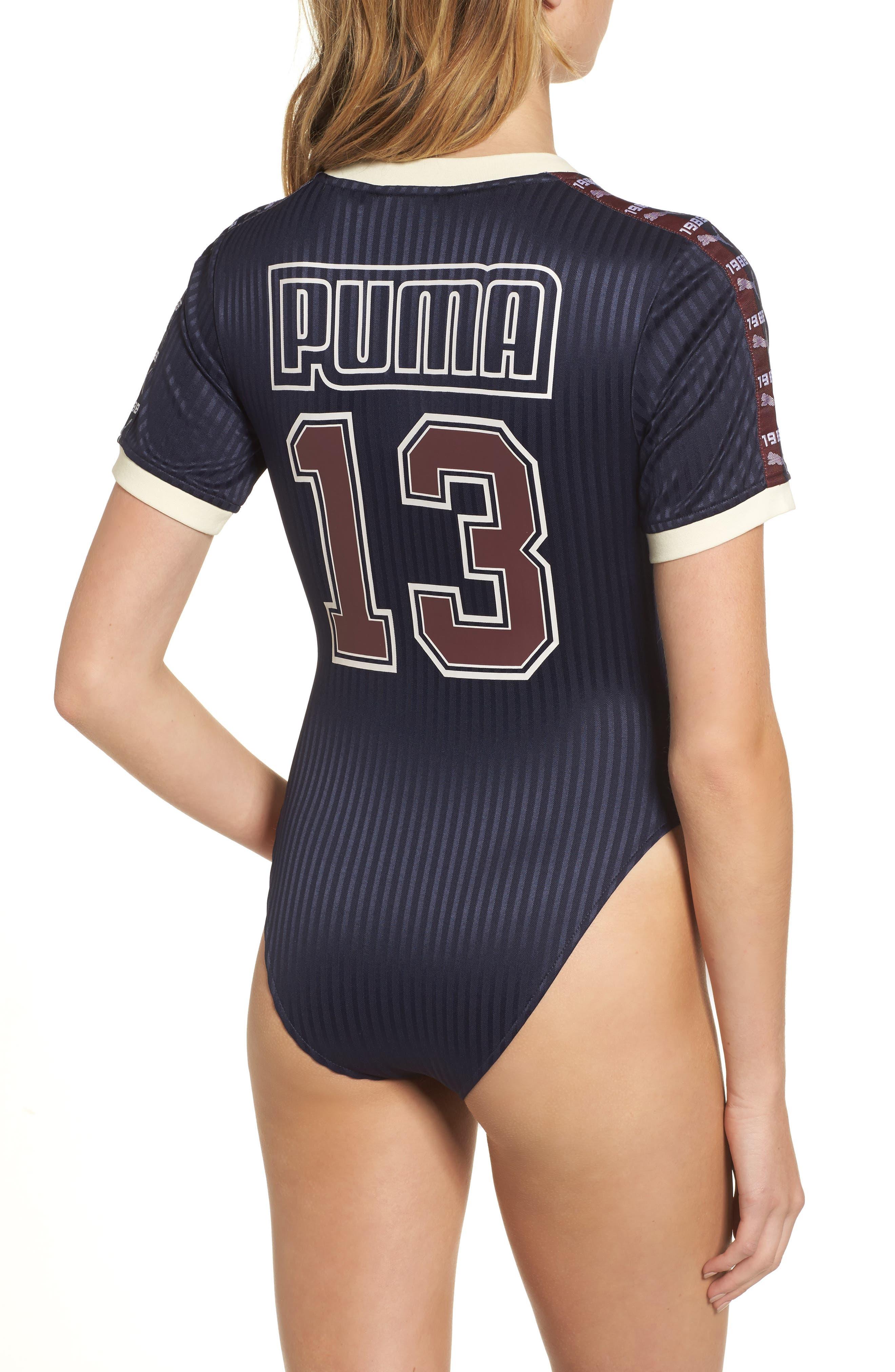 FENTY PUMA by Rihanna Bodysuit,                             Alternate thumbnail 2, color,                             Navy