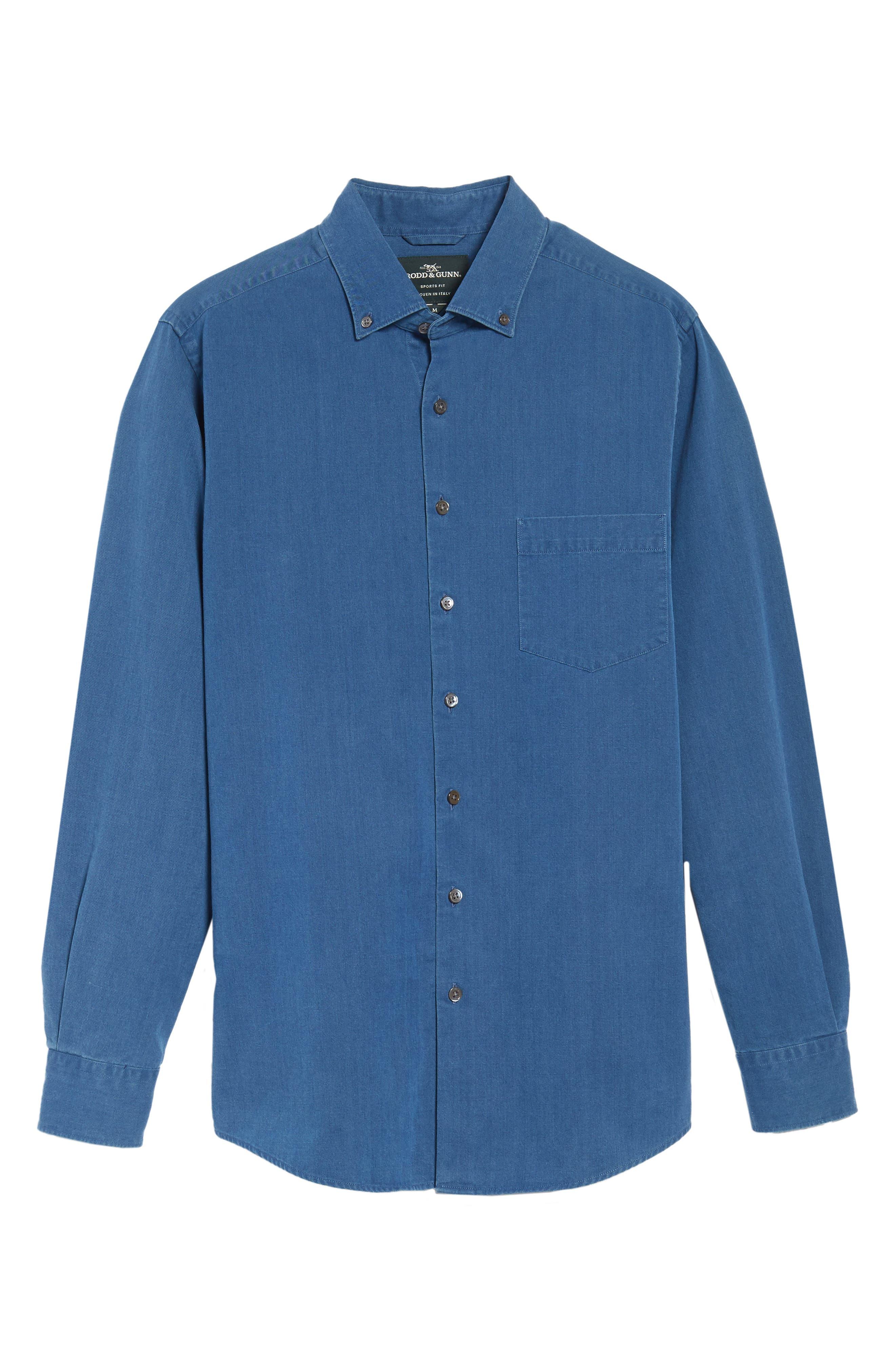 Alternate Image 6  - Rodd & Gunn Bayswater Sports Fit Sport Shirt