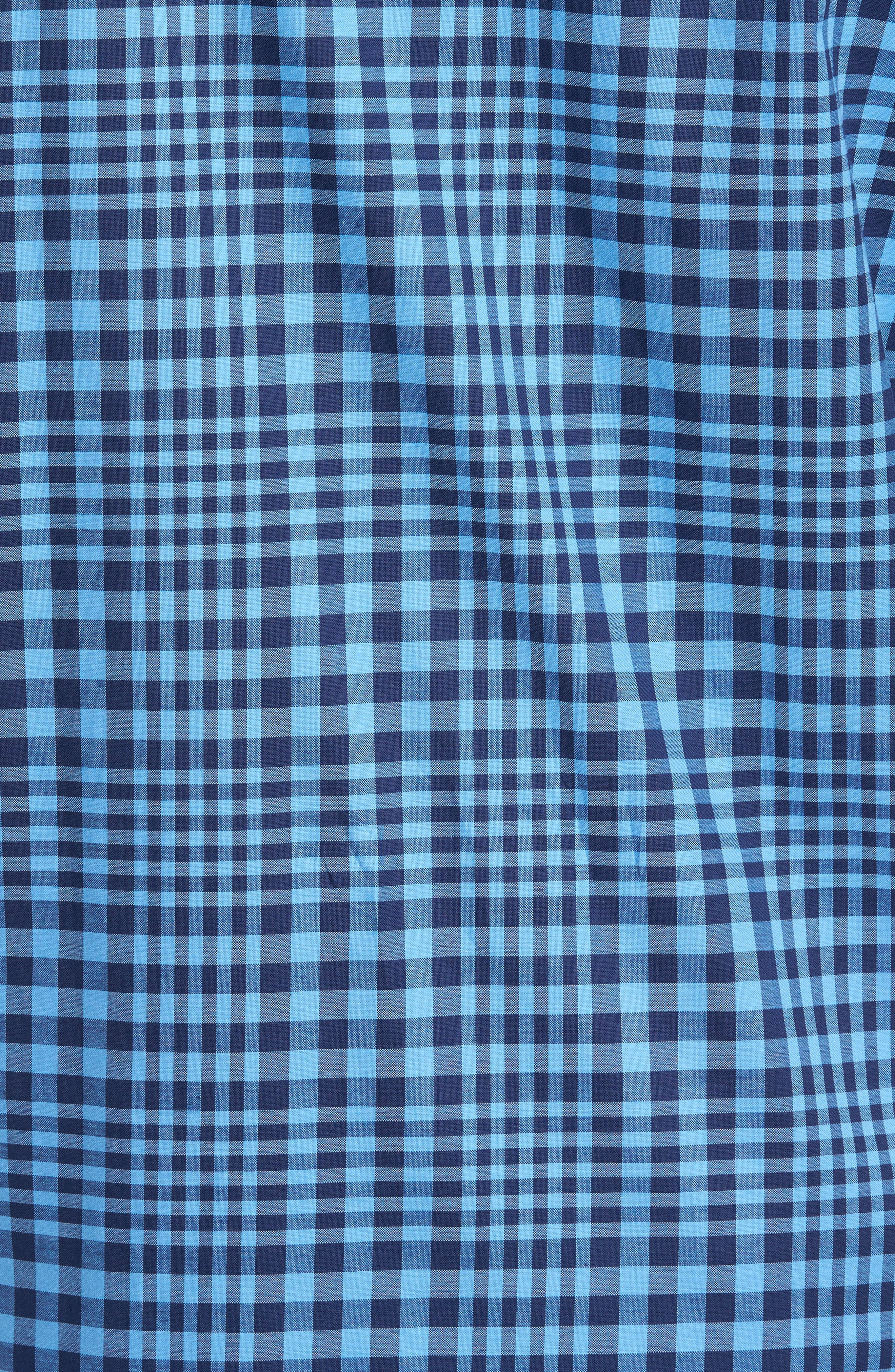Alternate Image 5  - TailorByrd Bayou Cone Check Sport Shirt