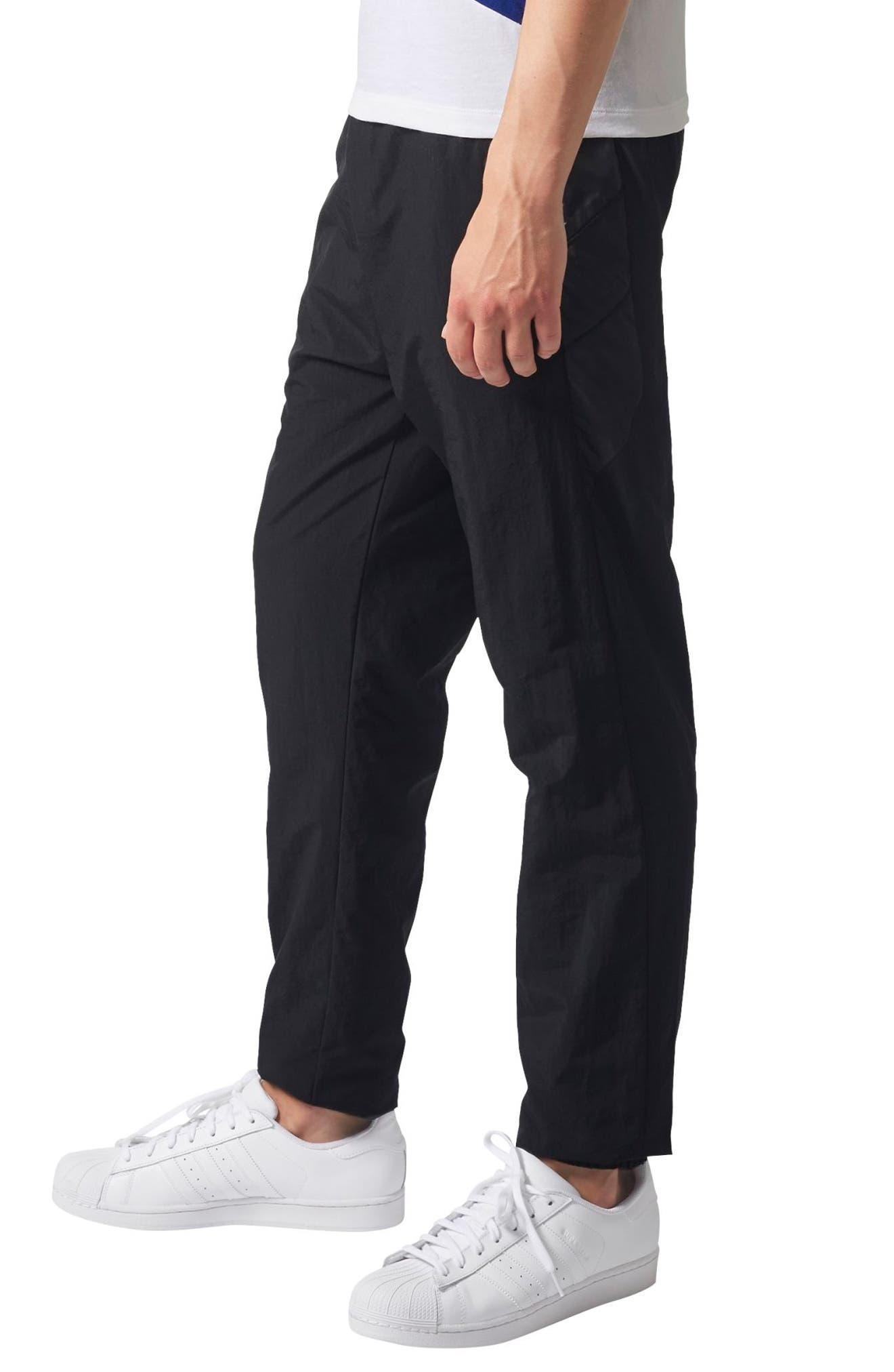 Originals Slim Tapered Pants,                             Alternate thumbnail 3, color,                             Black