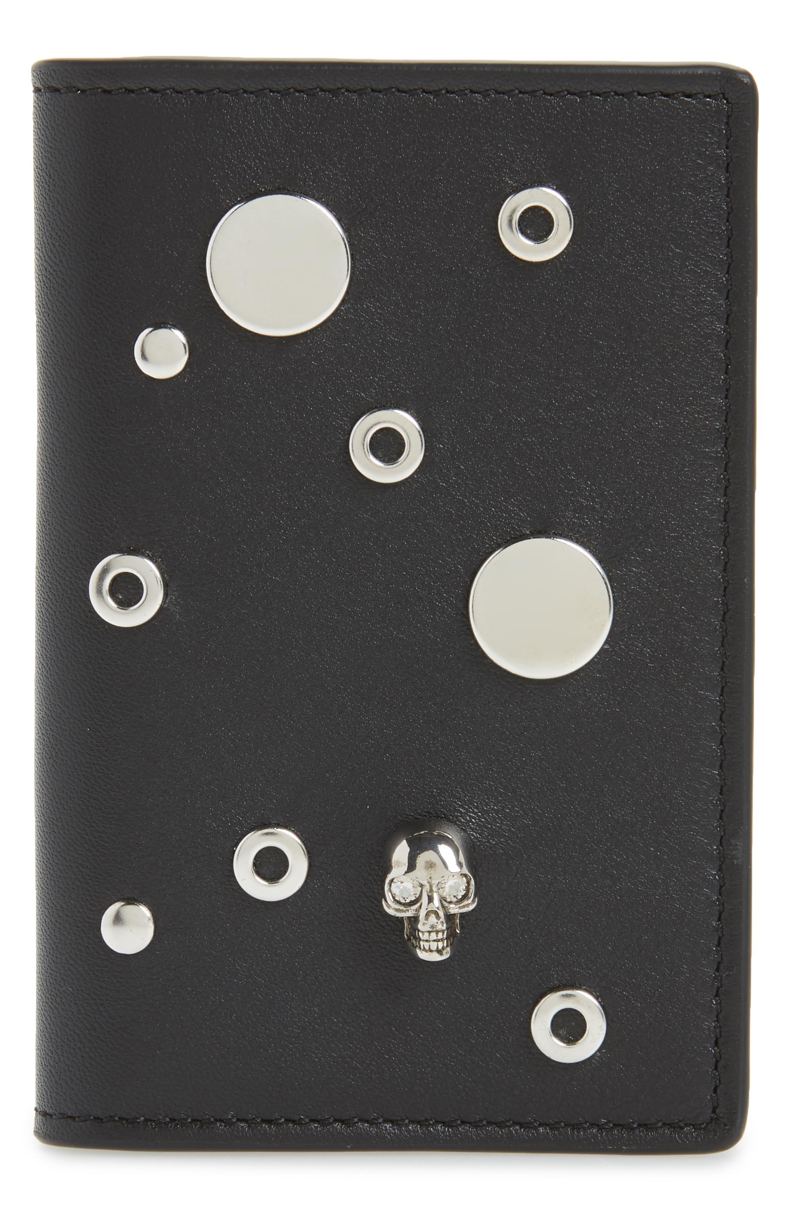Alexander McQueen Grommet Card Holder