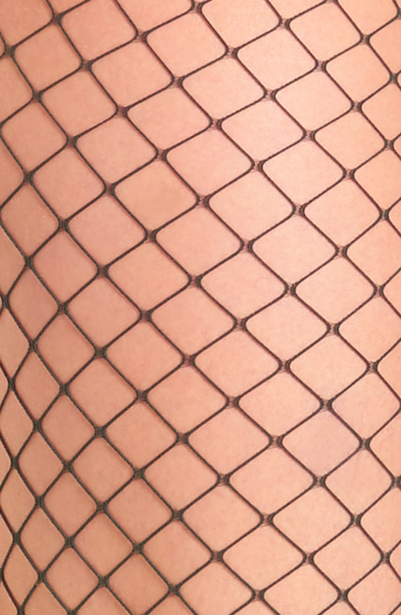 Libby Fishnet Tights,                             Alternate thumbnail 2, color,                             Dark Green