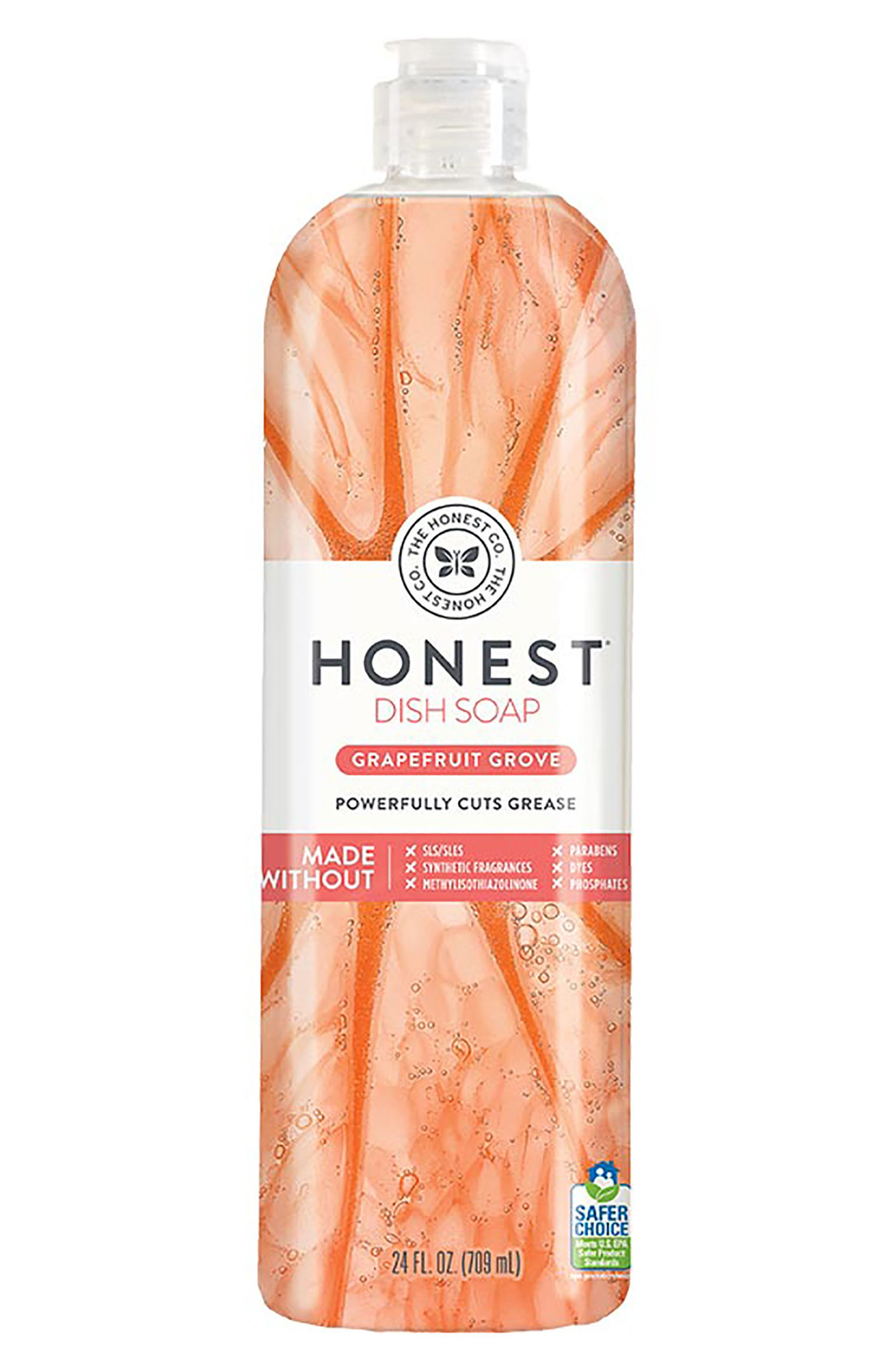 The Honest Company Grapefruit Grove Dish Soap