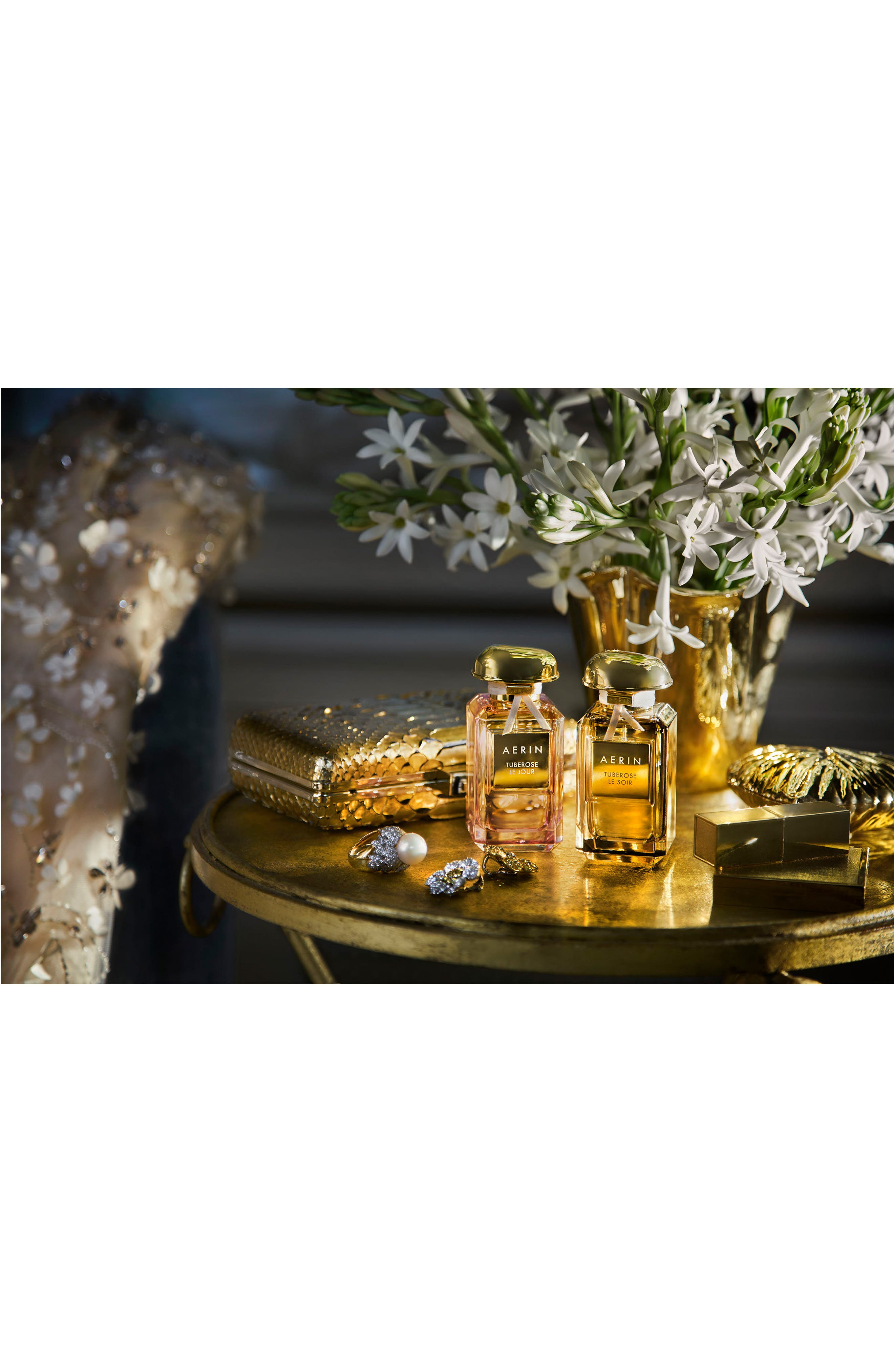 AERIN Beauty Tuberose Le Jour Parfum,                             Alternate thumbnail 9, color,                             No Color