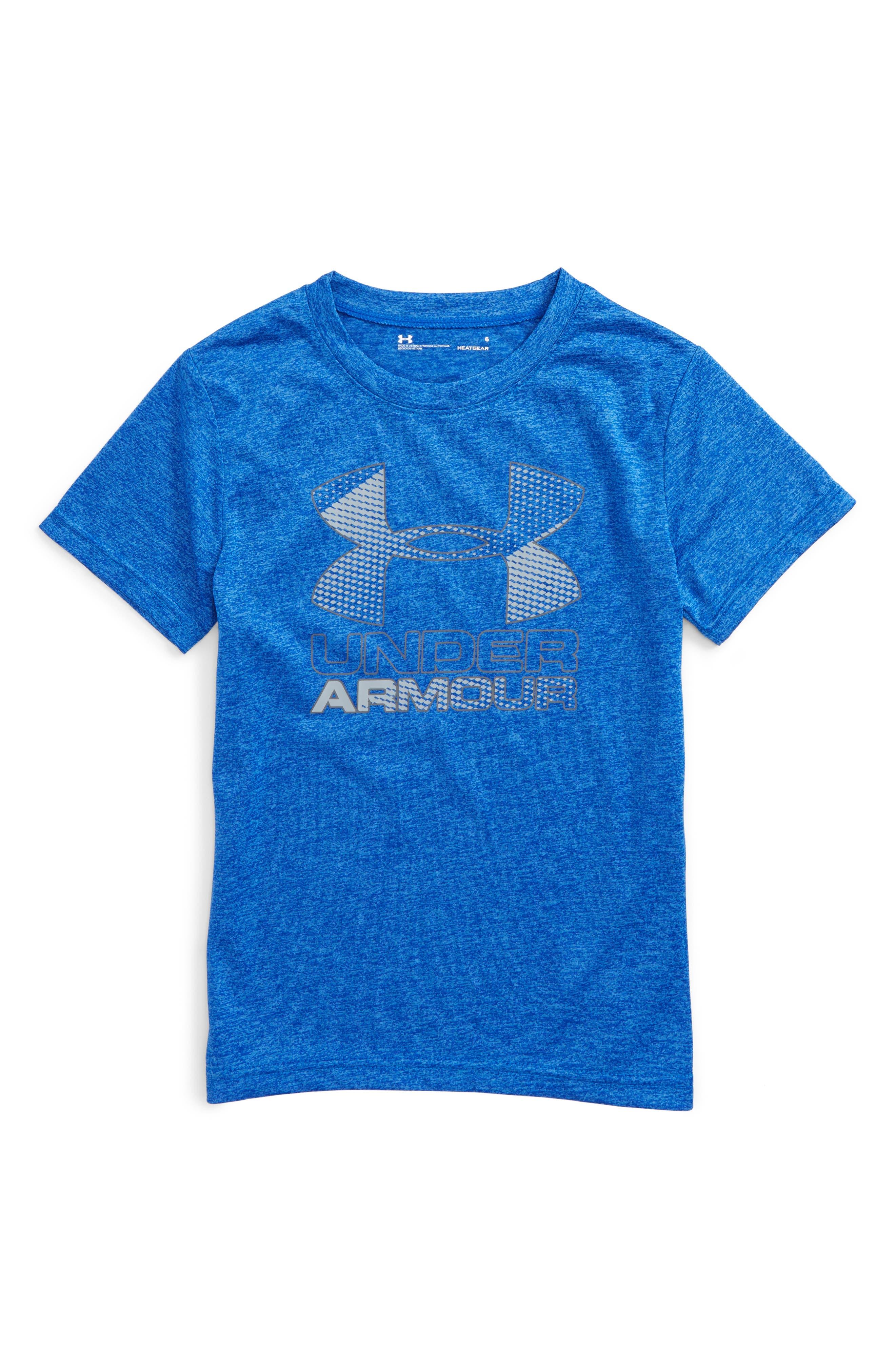 Under Armour Big Logo HeatGear® T-Shirt (Toddler Boys & Little Boys)