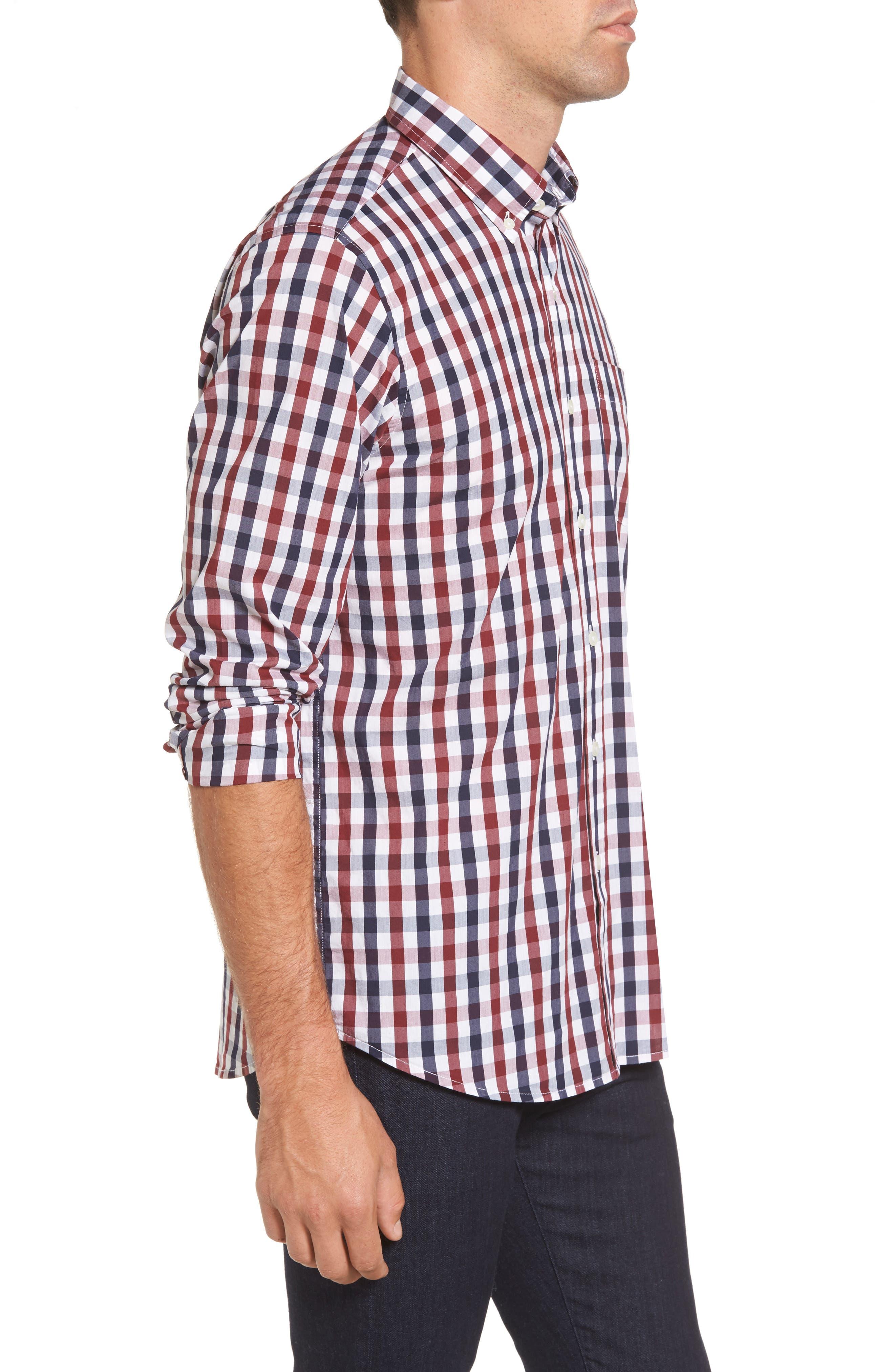 Alternate Image 3  - Tailor Vintage Regular Fit Performance Sport Shirt