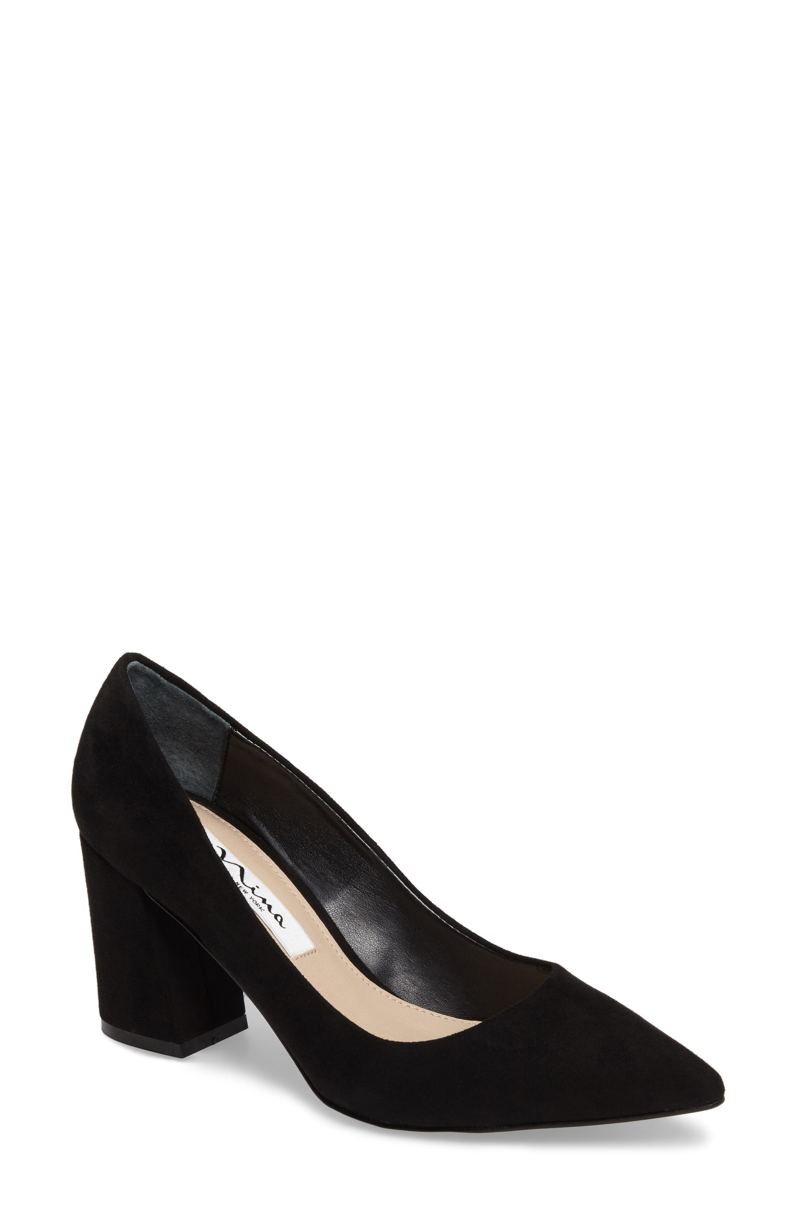 Nina Tinsley Pointy Toe Pump (Women)