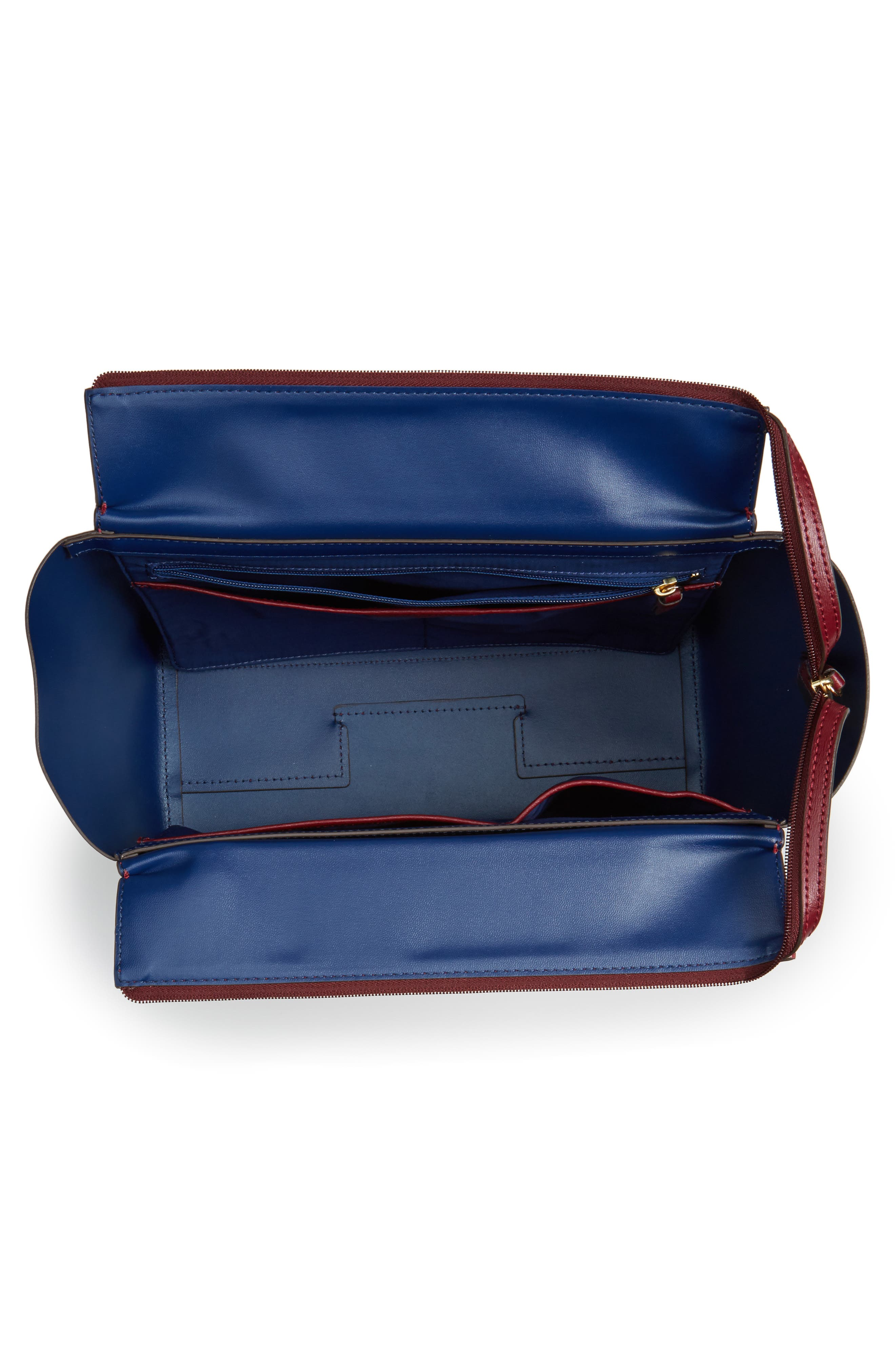 Alternate Image 4  - Tory Burch Small Parker Leather Tote