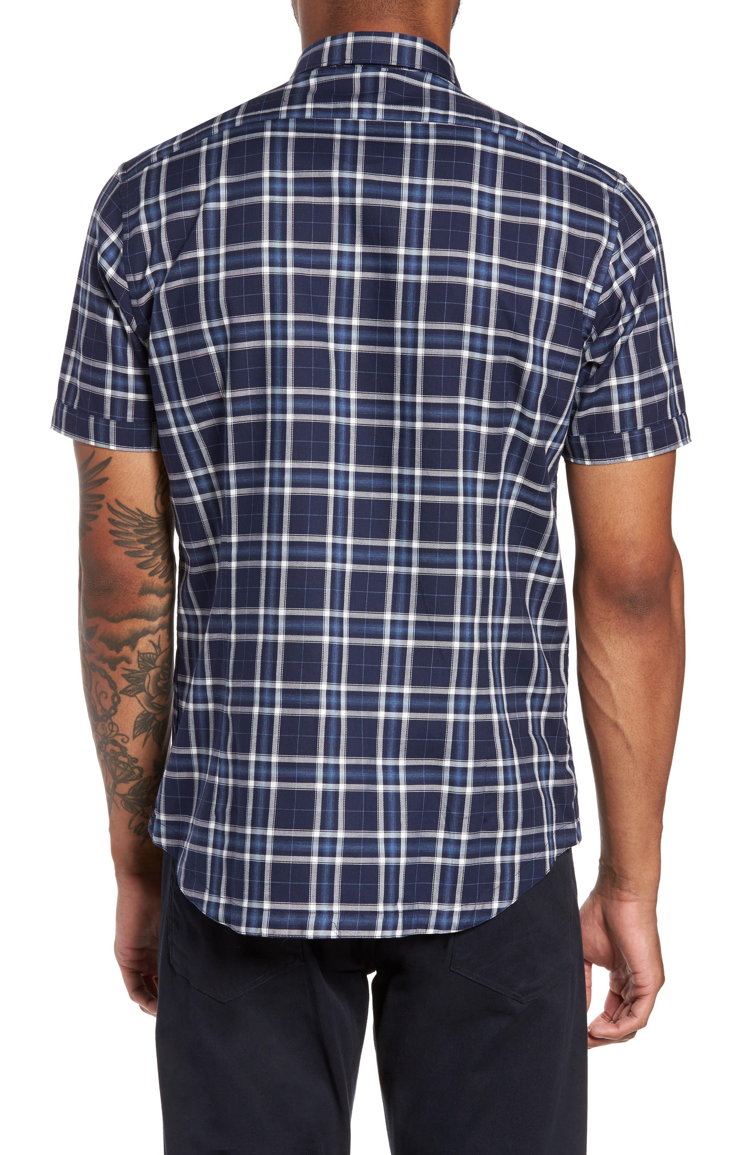 Alternate Image 2  - Good Man Brand Slim Fit Plaid Sport Shirt