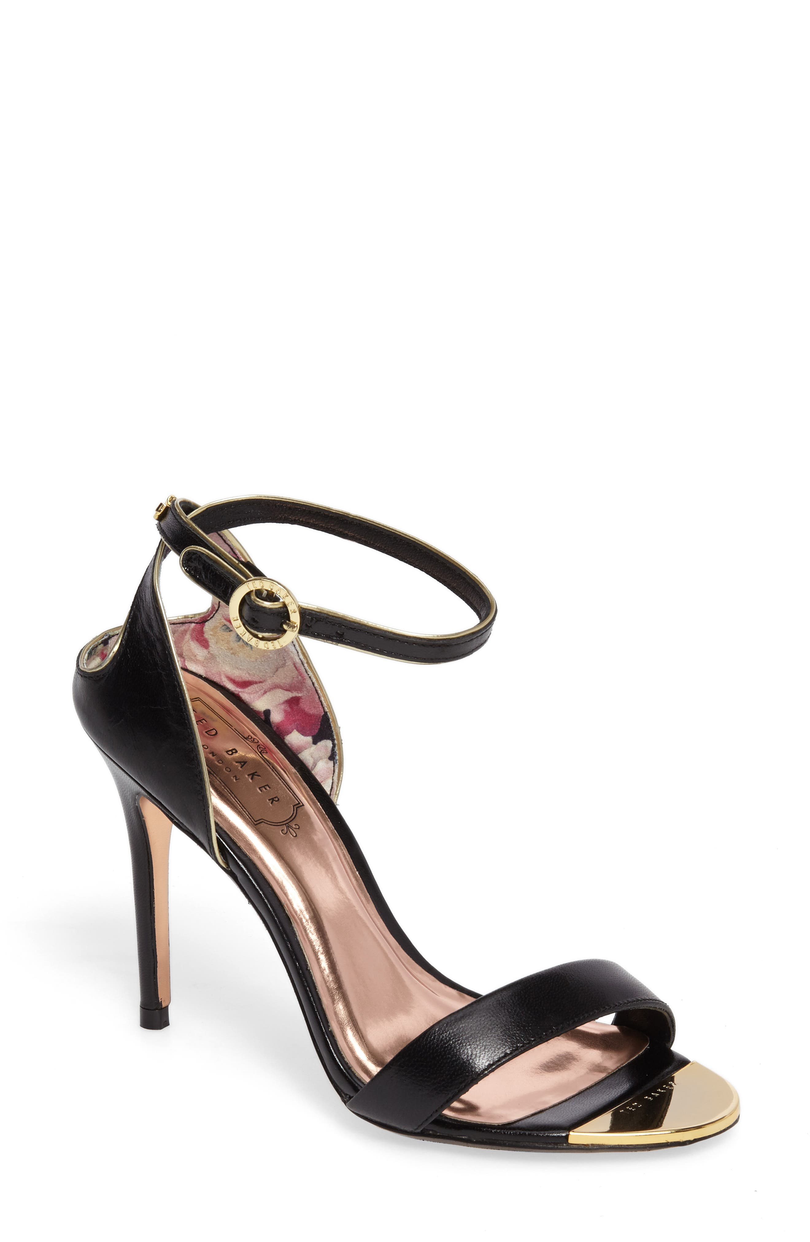 Ted Baker London Mirobell Ankle Strap Sandal (Women)