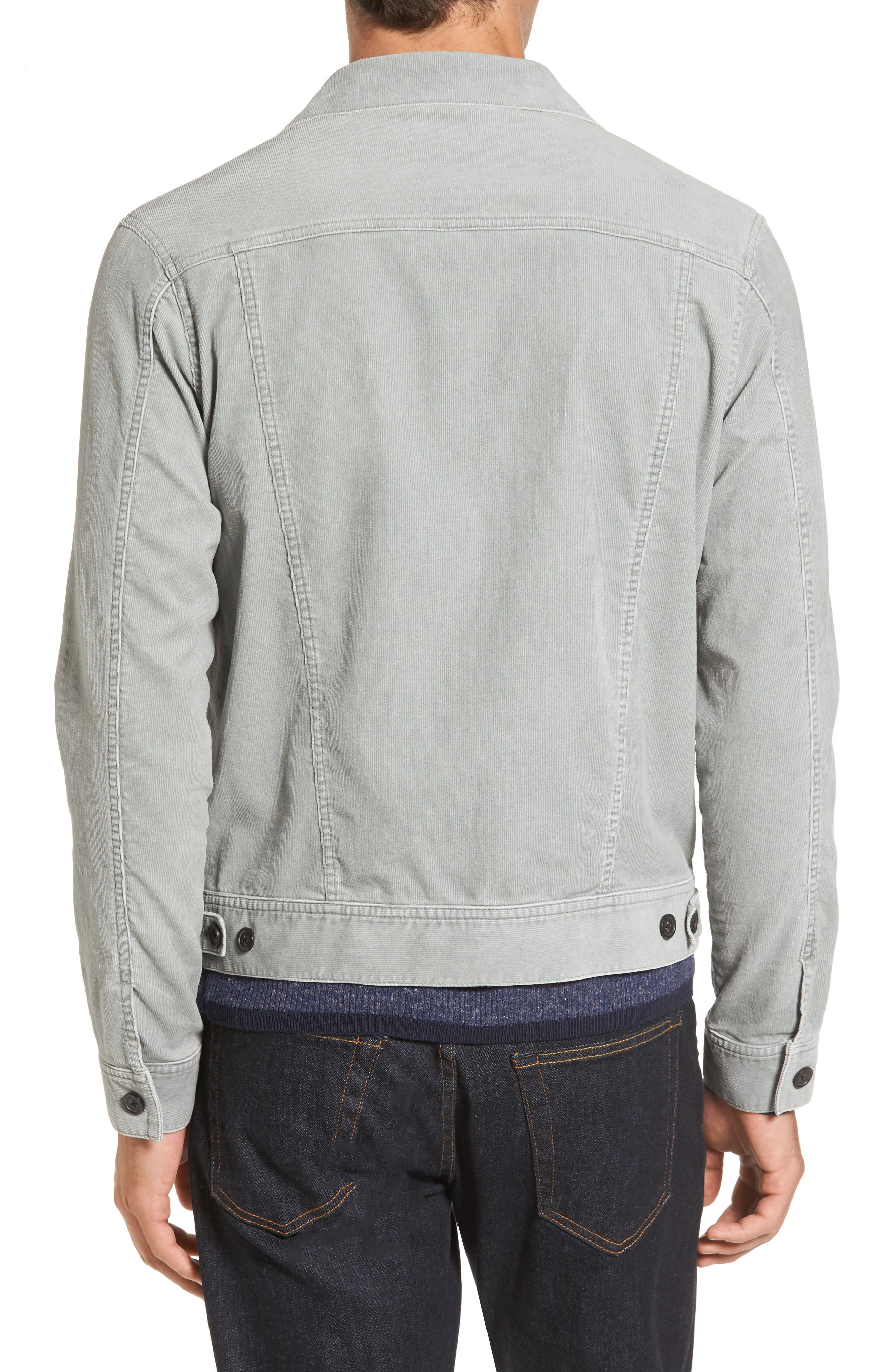 Alternate Image 2  - Michael Bastian Pigment Dyed Stretch Corduroy Jacket