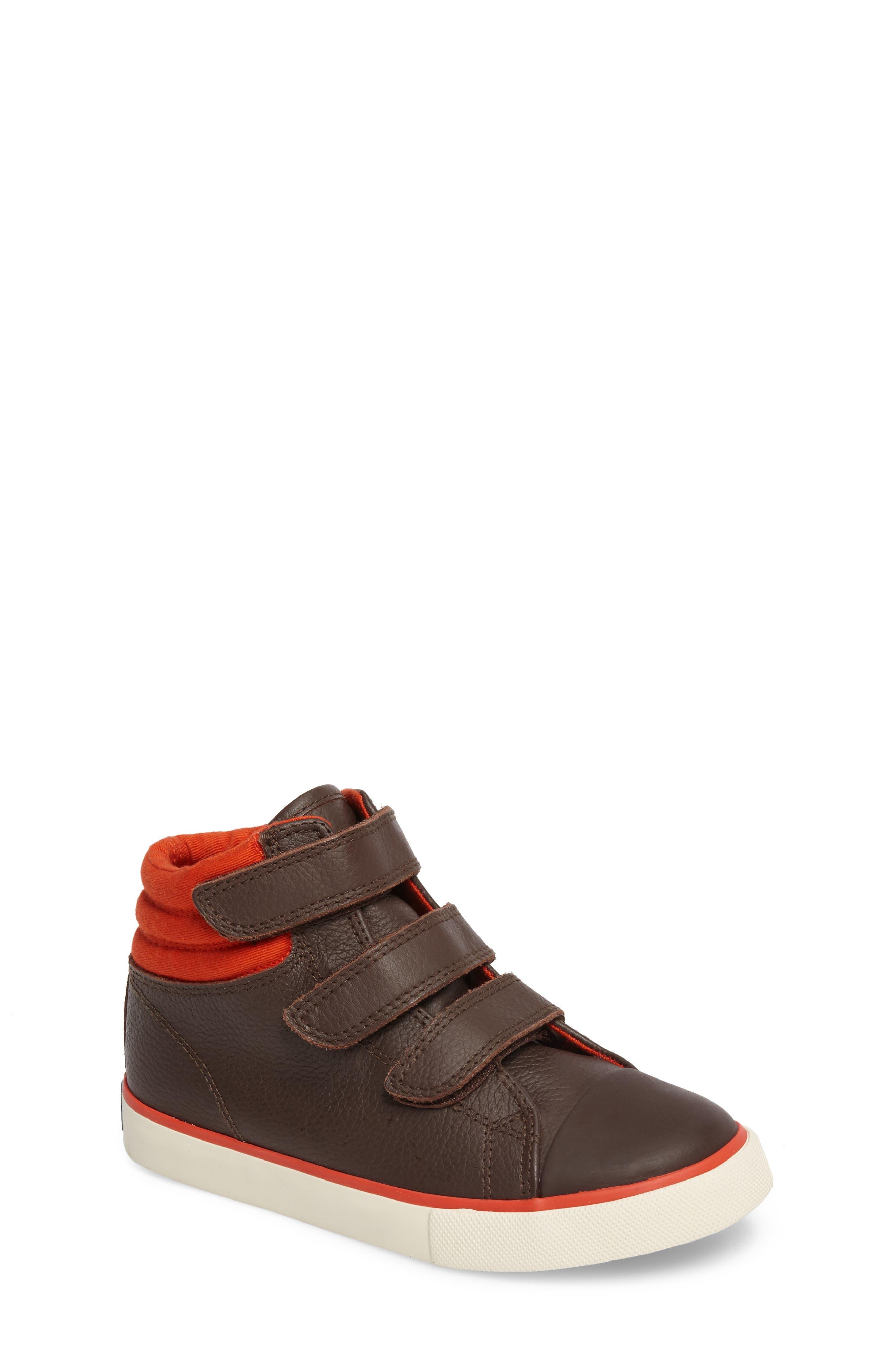 Mini Boden High Top Sneaker (Toddler, Little Kid & Big Kid)