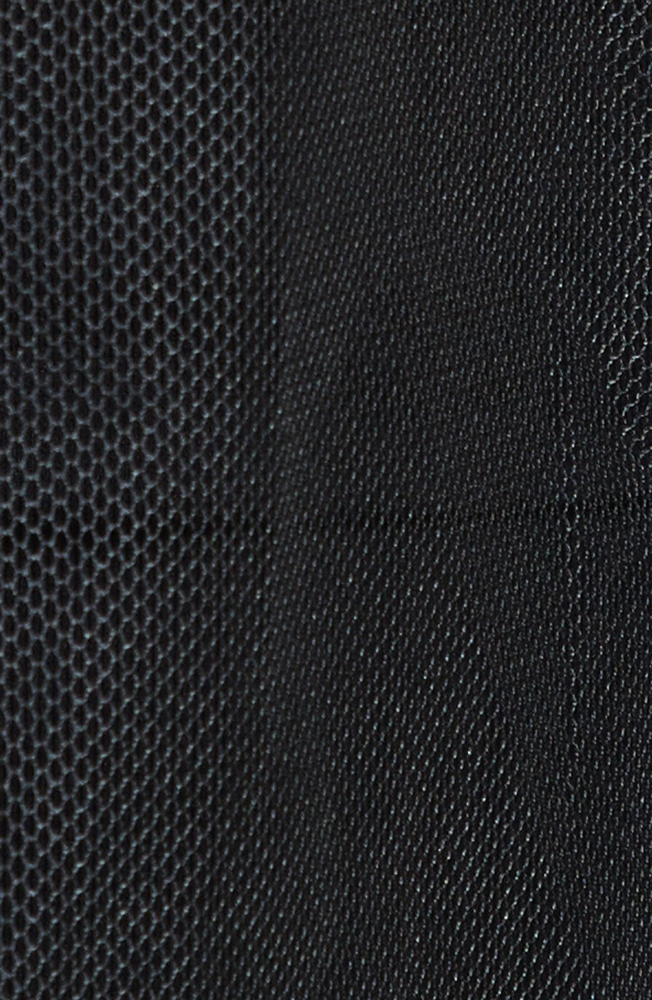 Tulle Coat,                             Alternate thumbnail 5, color,                             Black