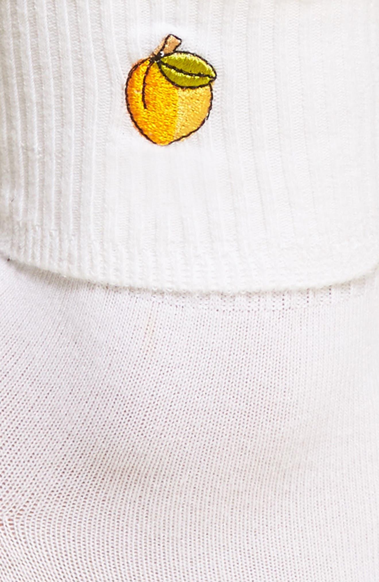Alternate Image 2  - Yeah Bunny Peach Socks