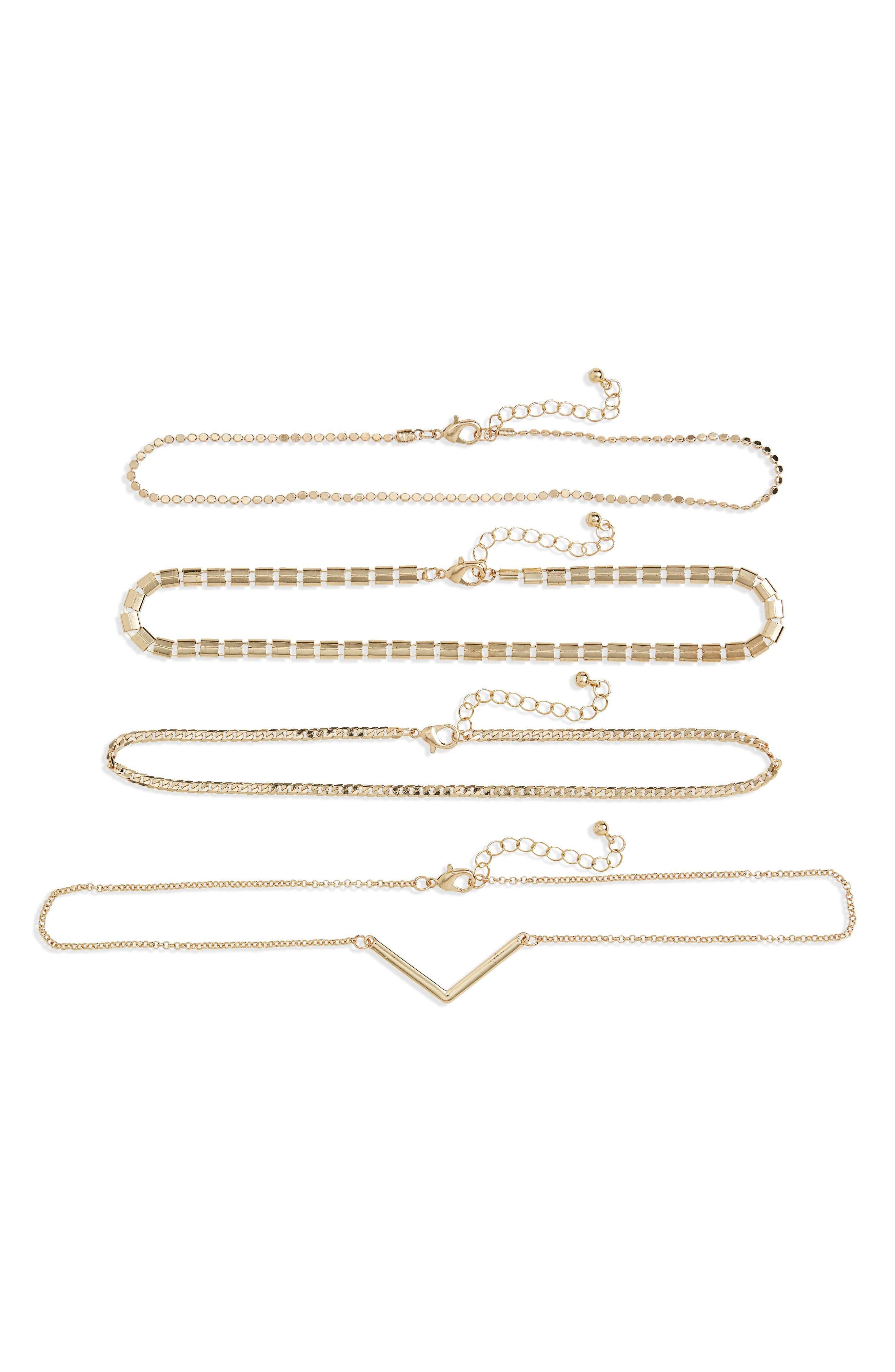 BP. 4-Pack Chokers