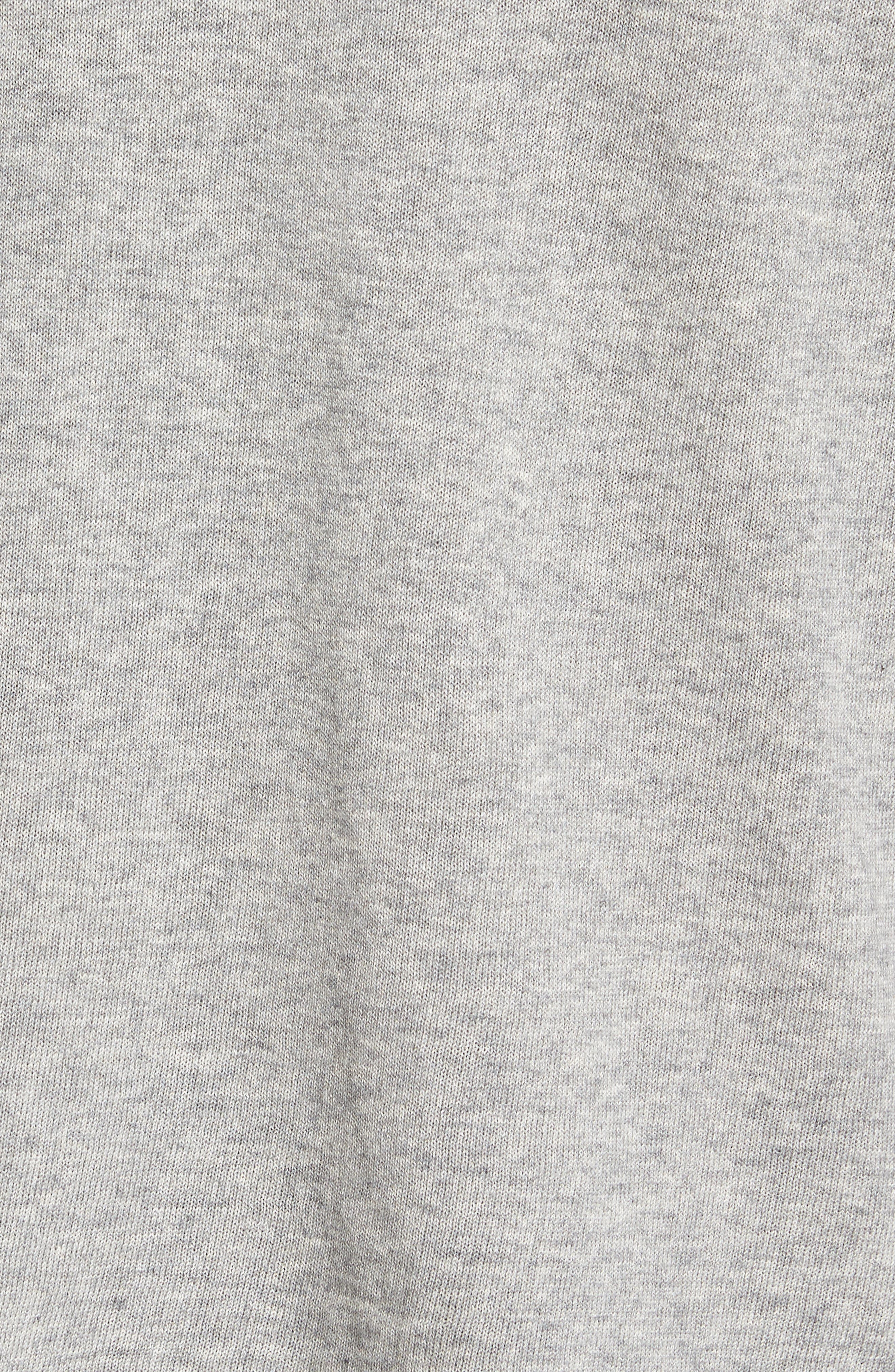 Hess Wool Turtleneck Sweater,                             Alternate thumbnail 5, color,                             Light Grey