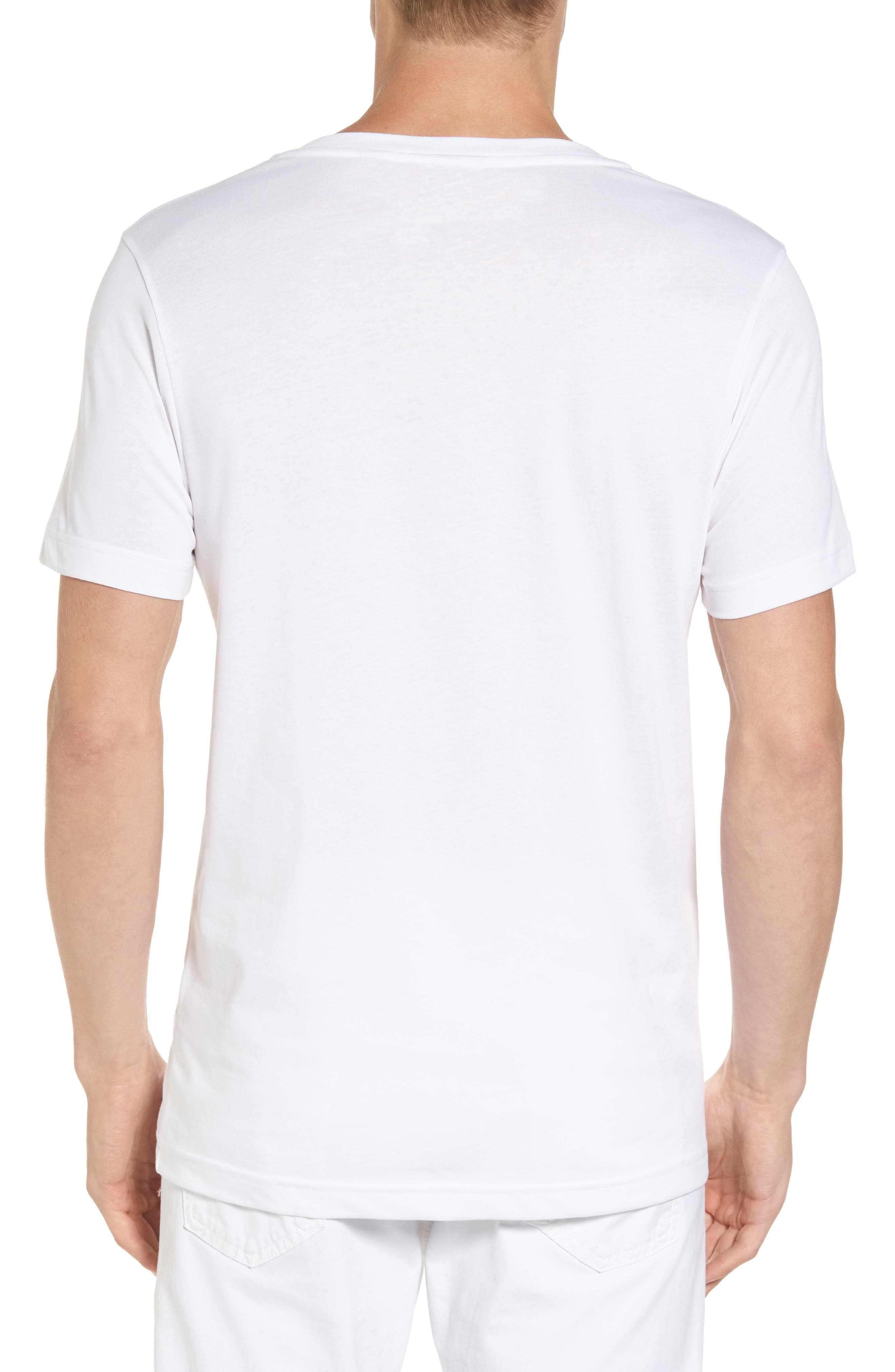 Alternate Image 2  - Lacoste Vertical Graphic T-Shirt