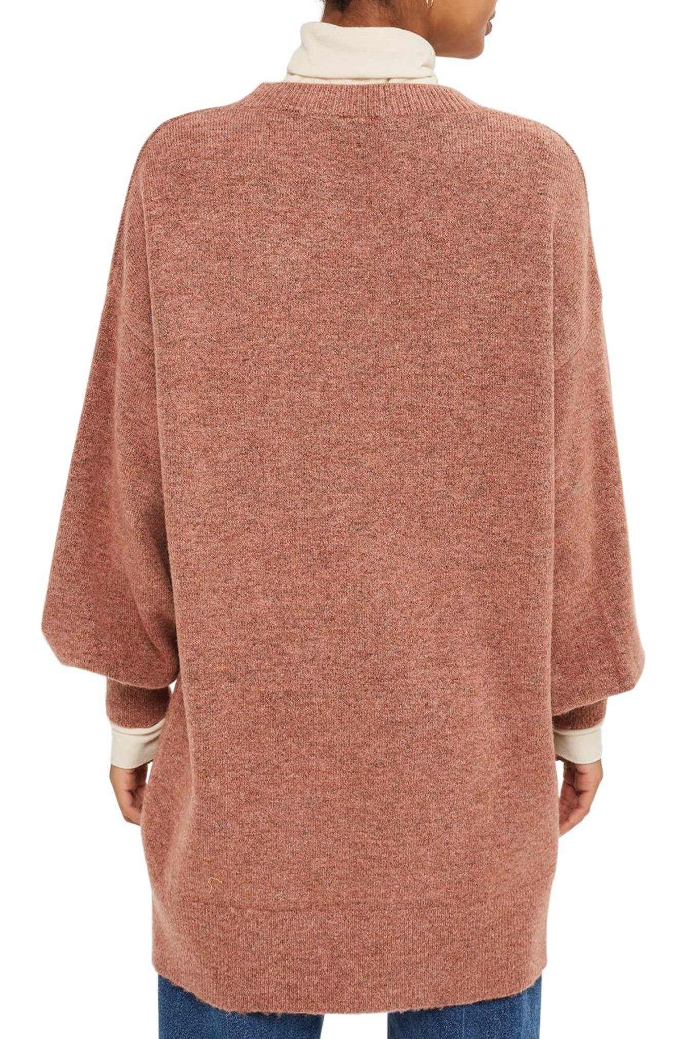 Alternate Image 2  - Topshop Sweater Dress