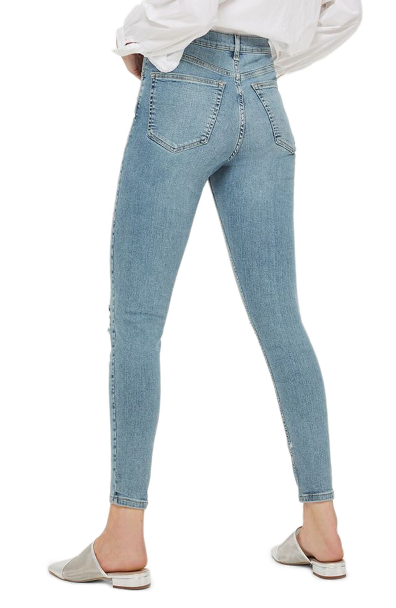 Alternate Image 2  - Topshop Super Rip Mom Jeans
