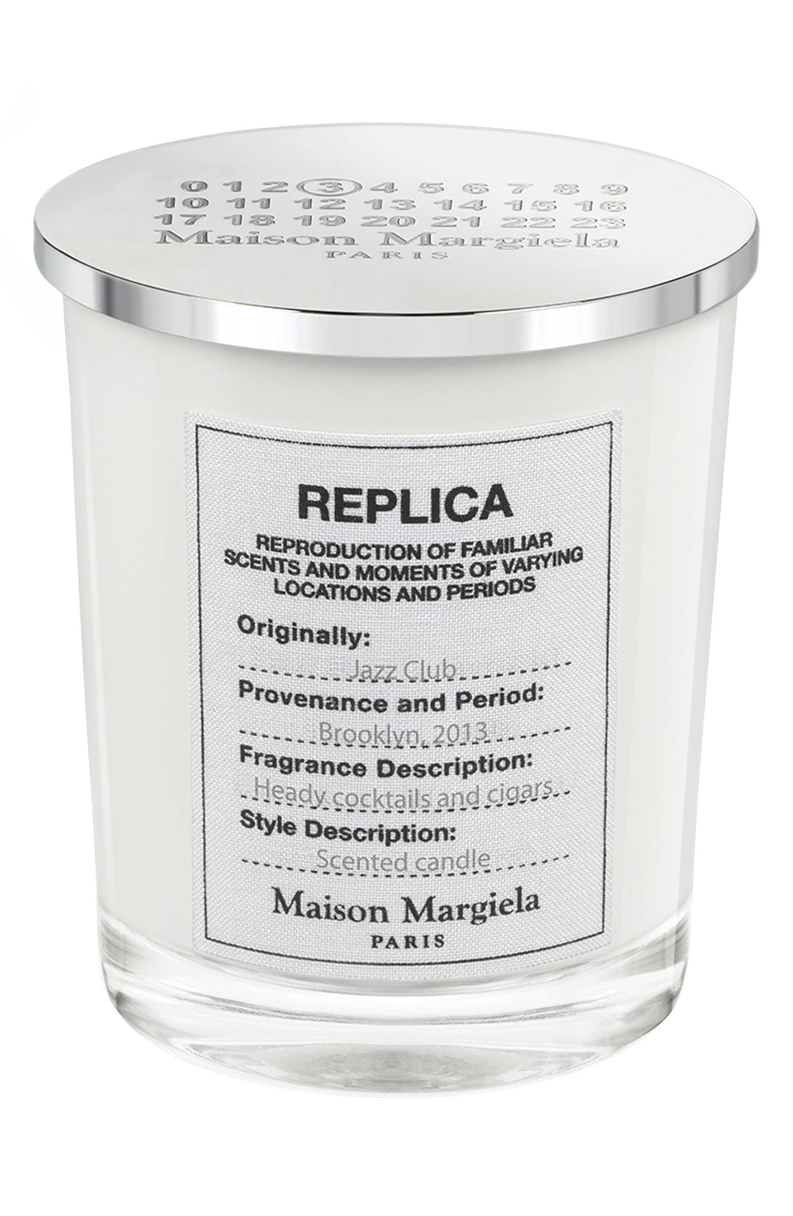 Replica Jazz Club Scented Candle,                             Main thumbnail 1, color,                             No Color
