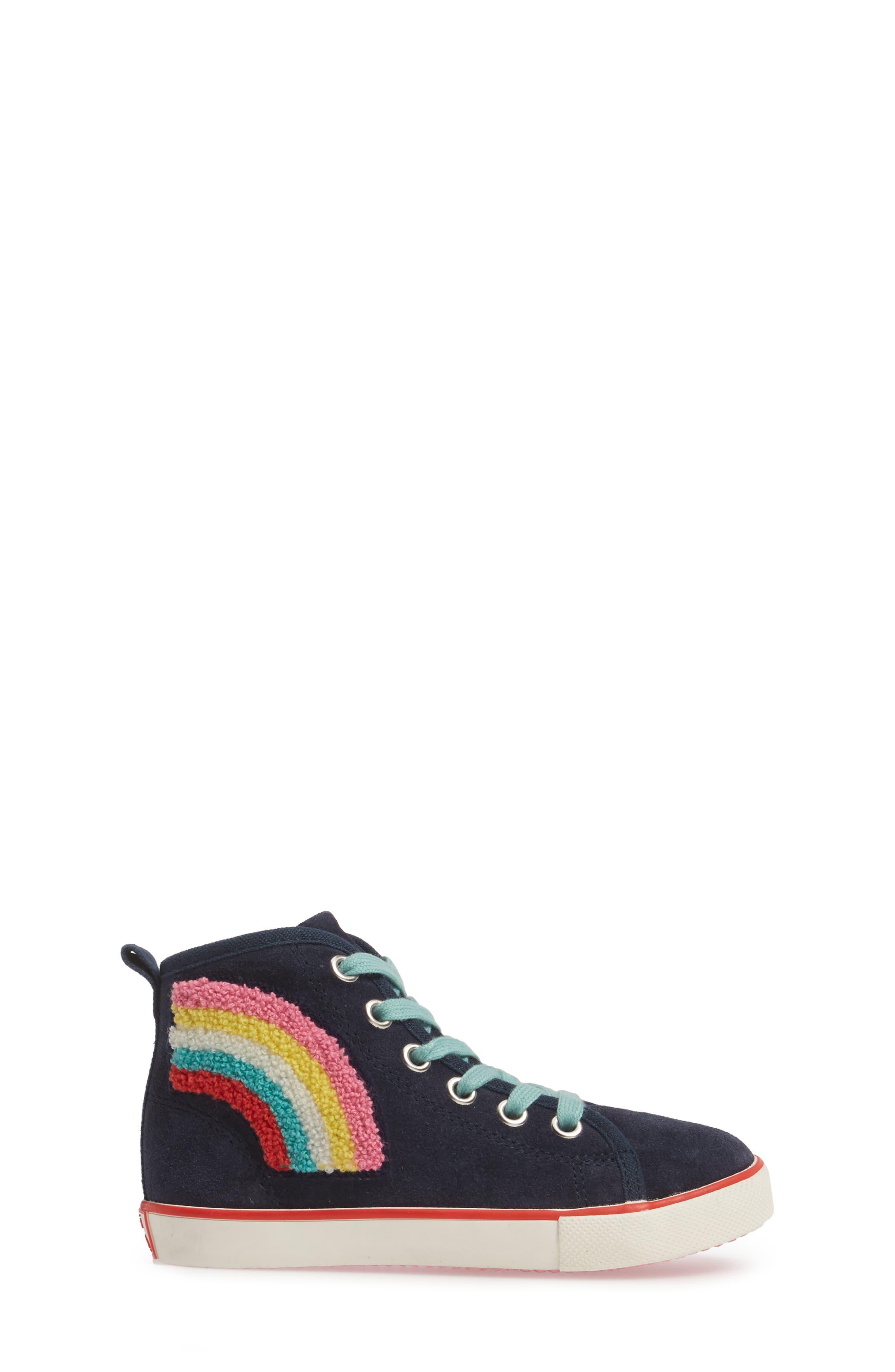 Alternate Image 3  - Mini Boden Embellished High Top Sneaker (Toddler, Little Kid & Big Kid)
