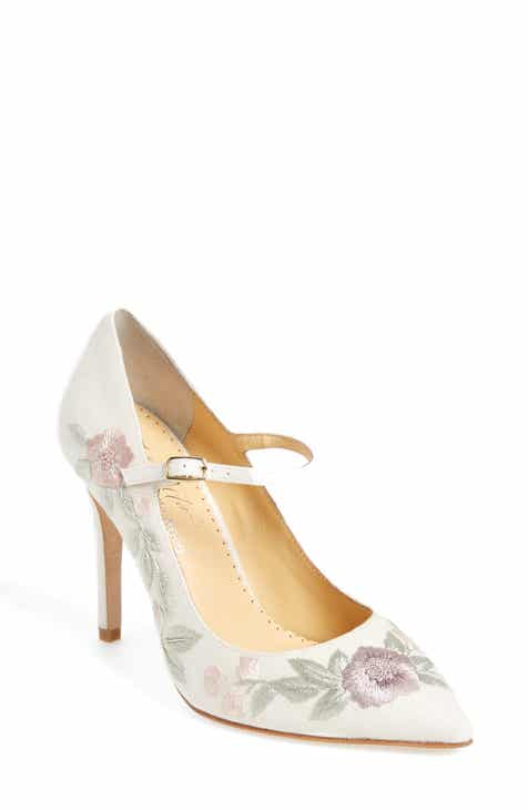 Bella Belle Adelaide Embroidered Pump (Women)