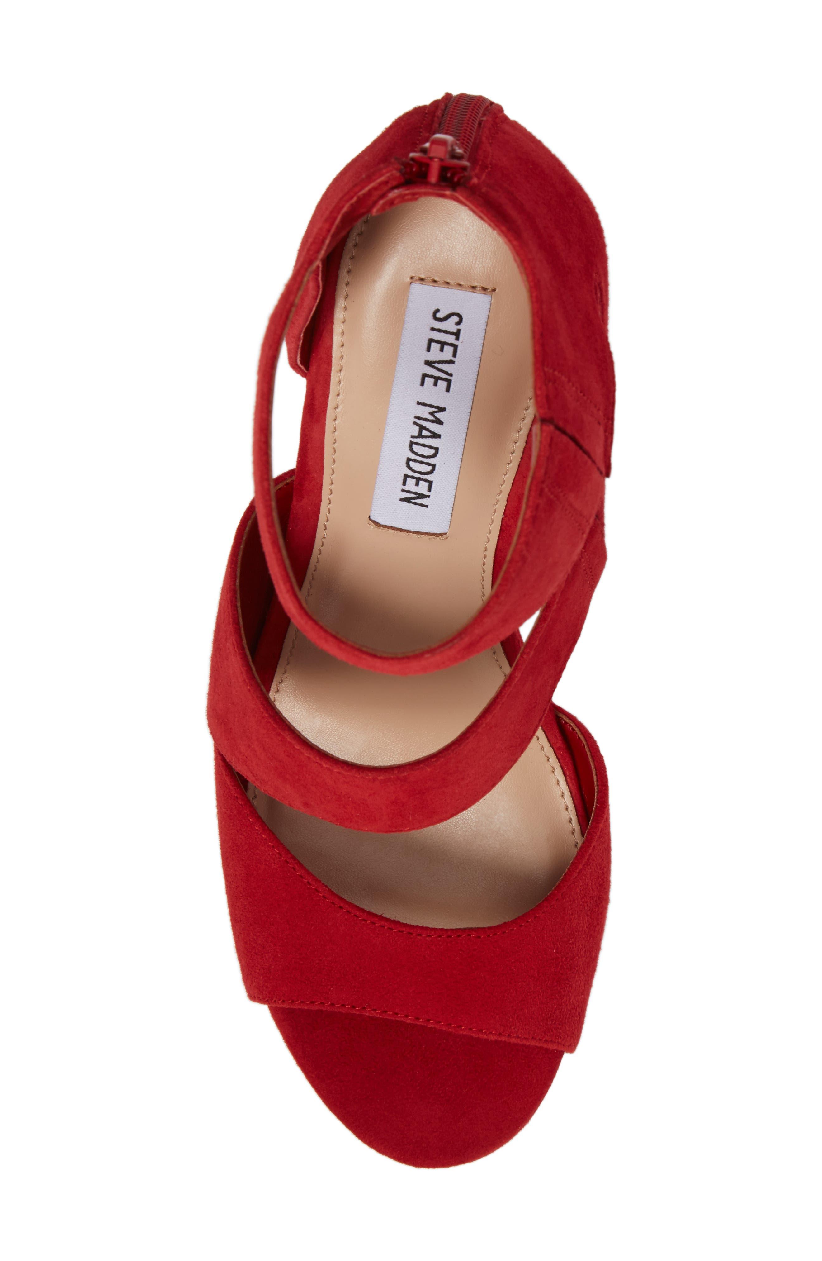 Alternate Image 5  - Steve Madden Essey Asymmetrical Platform Wedge Sandal (Women)