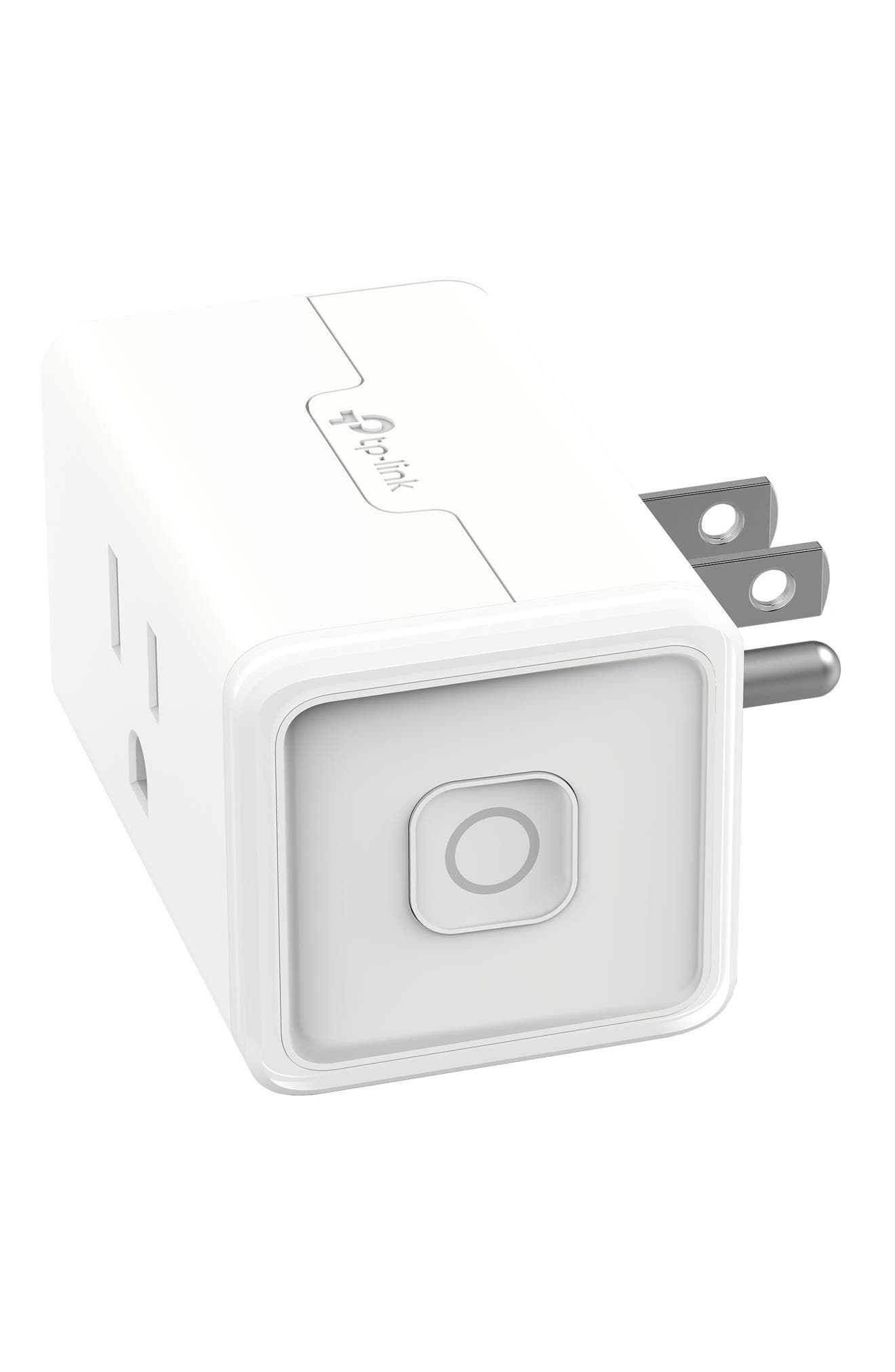 Smart Wi-Fi Mini Plug,                             Alternate thumbnail 2, color,                             White